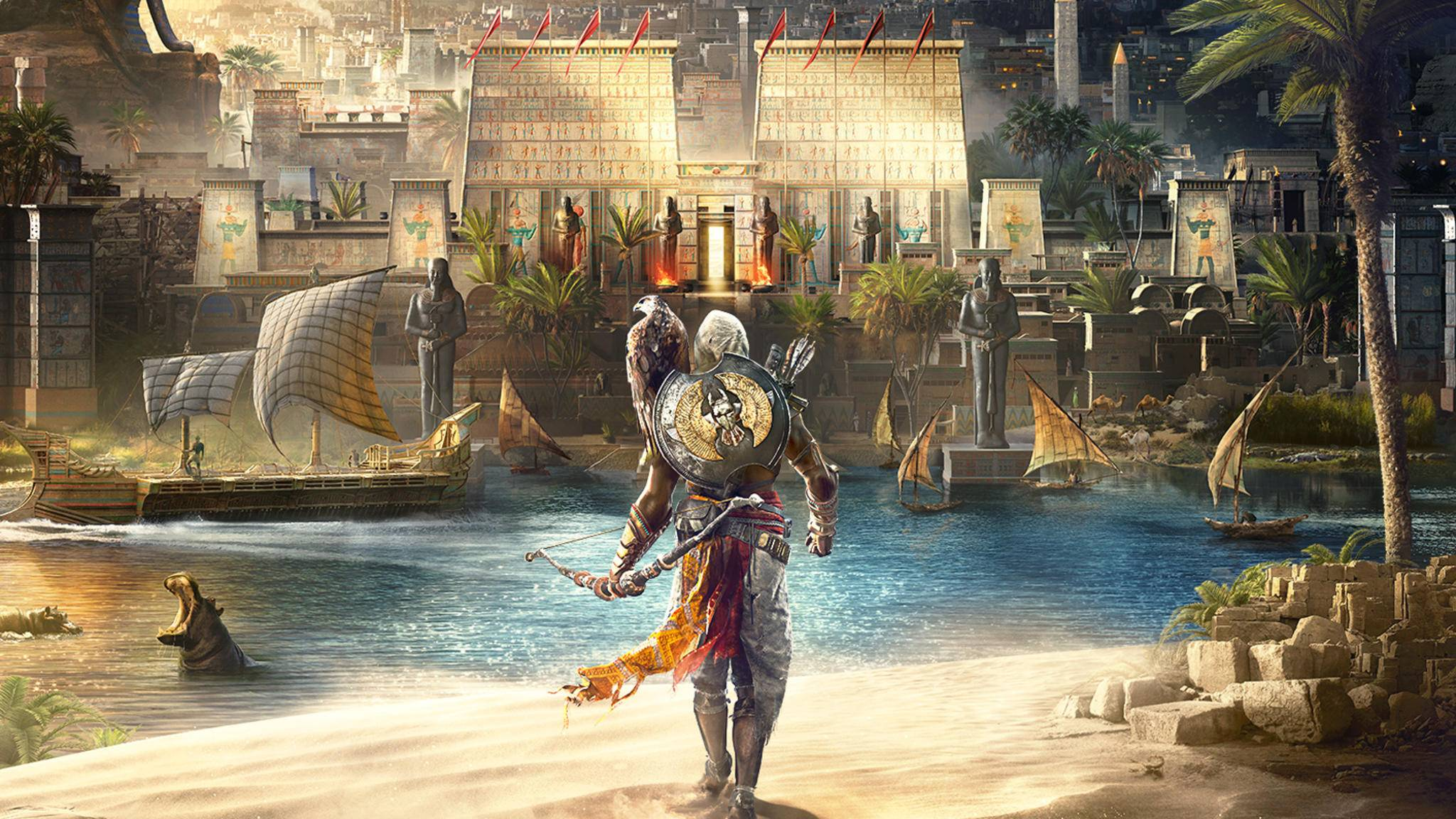 """Assassin's Creed: Origins"" bringt ein Lootboxen-System mit."