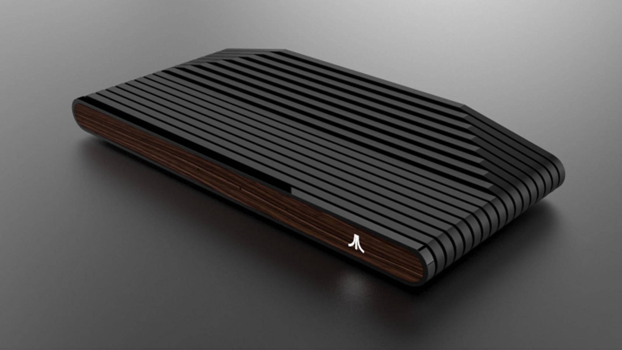 Die Ataribox wird es in verschiedenen Farben geben – vom edlen Holz...