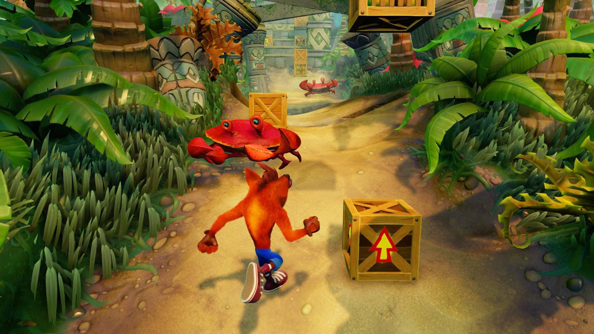 """""""Crash Bandicoot"""" (PS1, PS4) gehört zu den besten Hüpfspielen."""