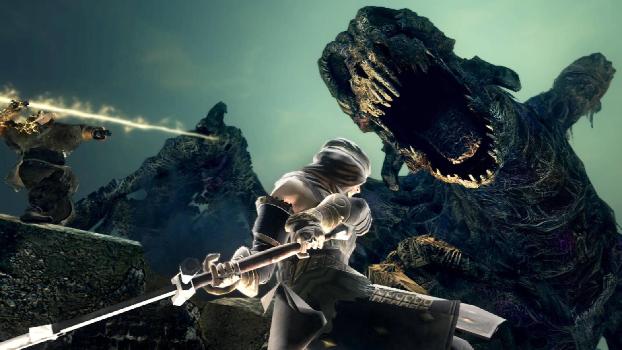 """Wer sich mit Kleinvieh nicht mehr abgibt, bekommt mit einem neuen """"Dark Souls""""-Mod die Lösung."""