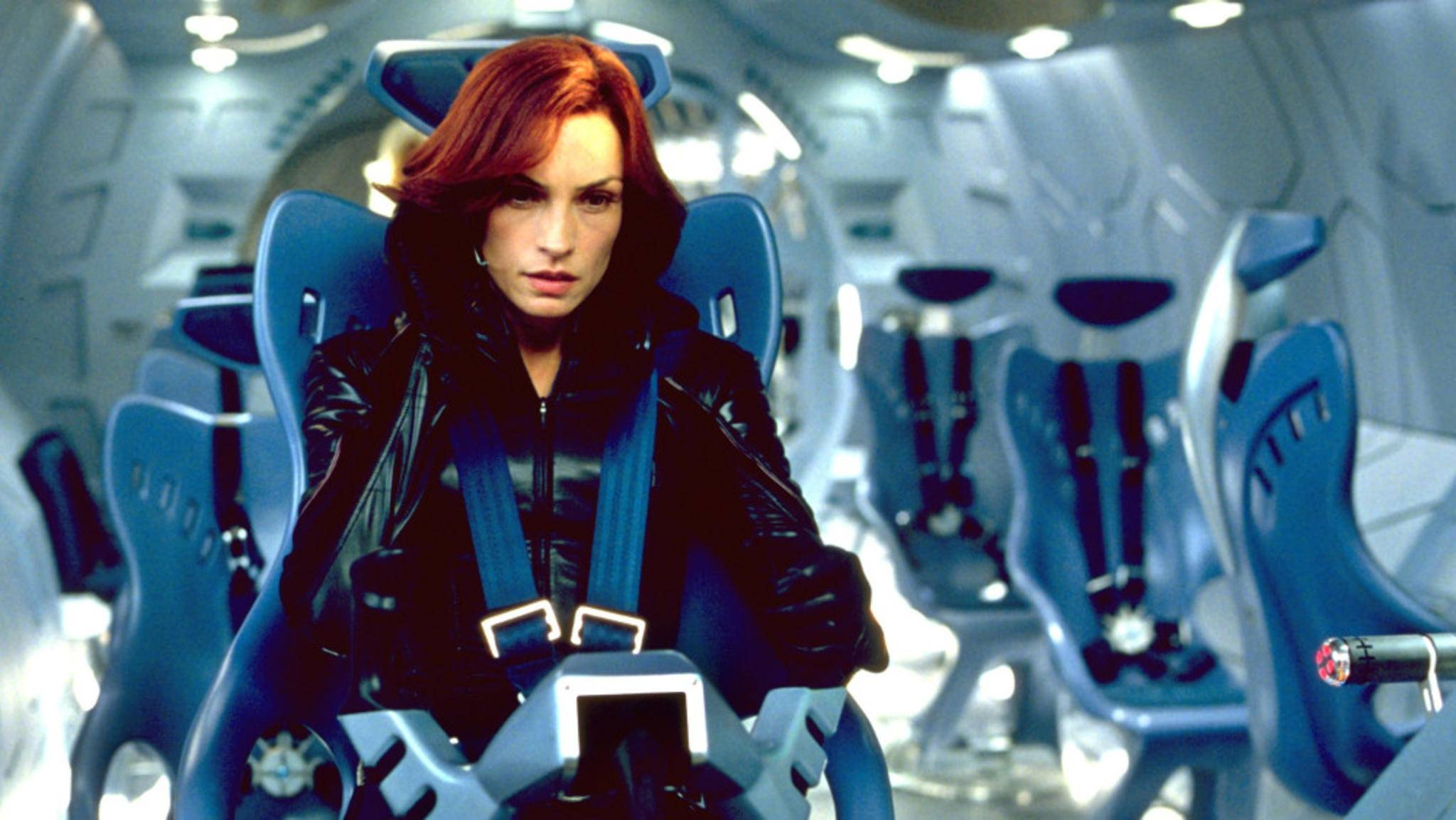 "Famke Janssen war in der ersten ""X-Men""-Trilogie die Telepathin Jean Grey."