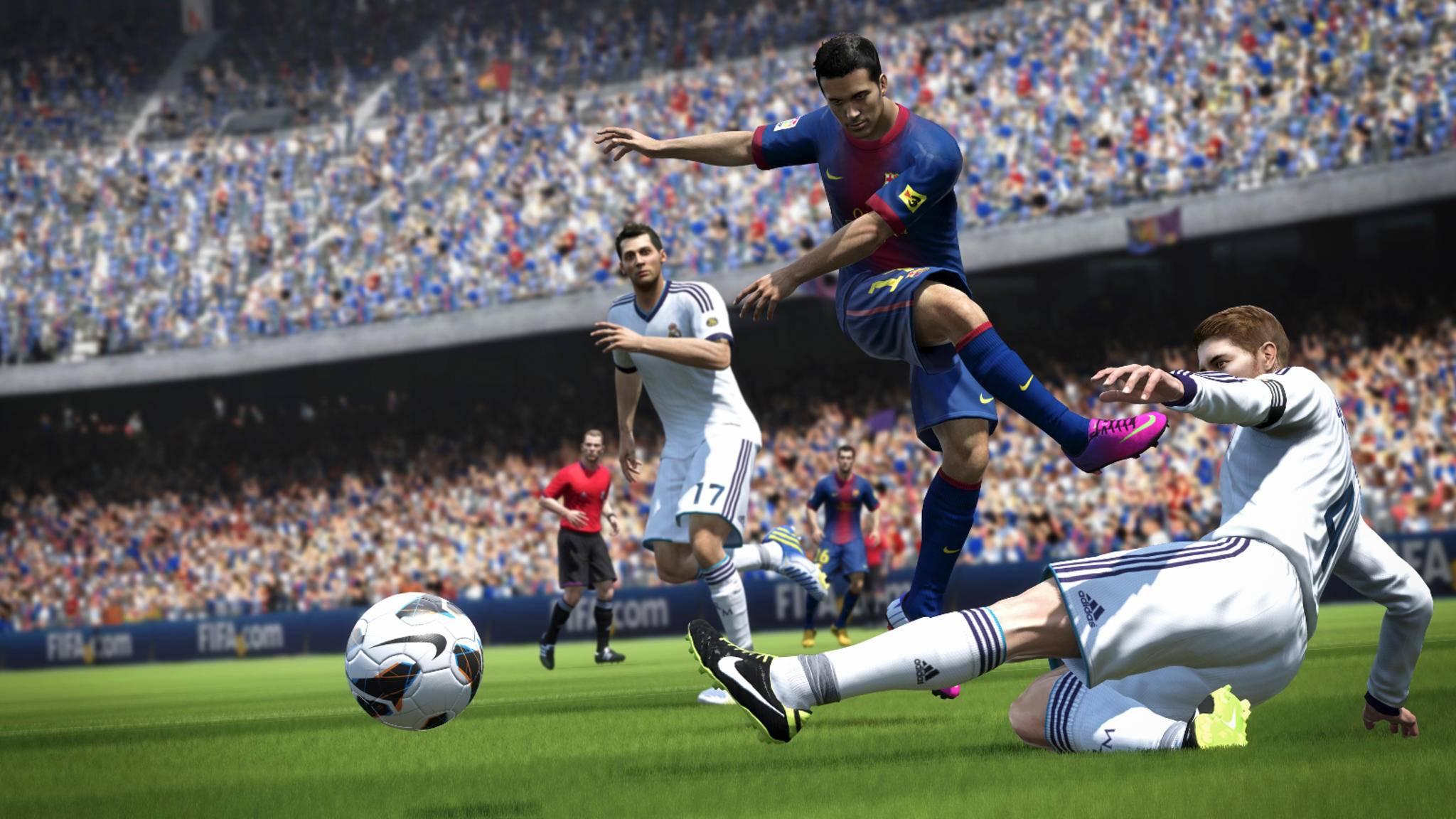 """Wer """"FIFA 14"""" noch online spielt, sollte die Zeit bis zum 18. Oktober genießen ..."""