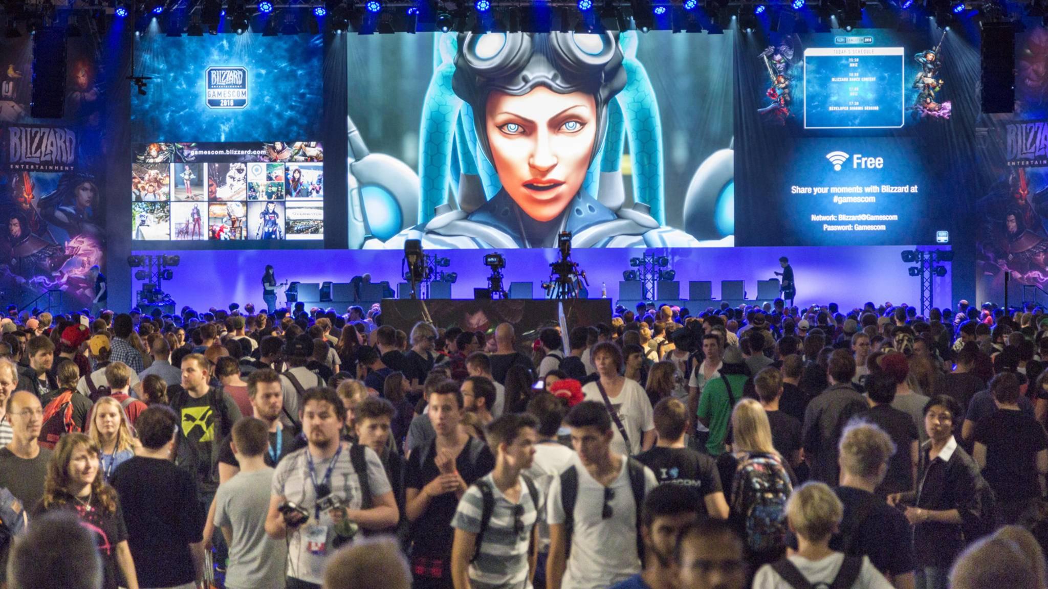 Auf der Gamescom 2017 wird wieder jede Menge los sein.