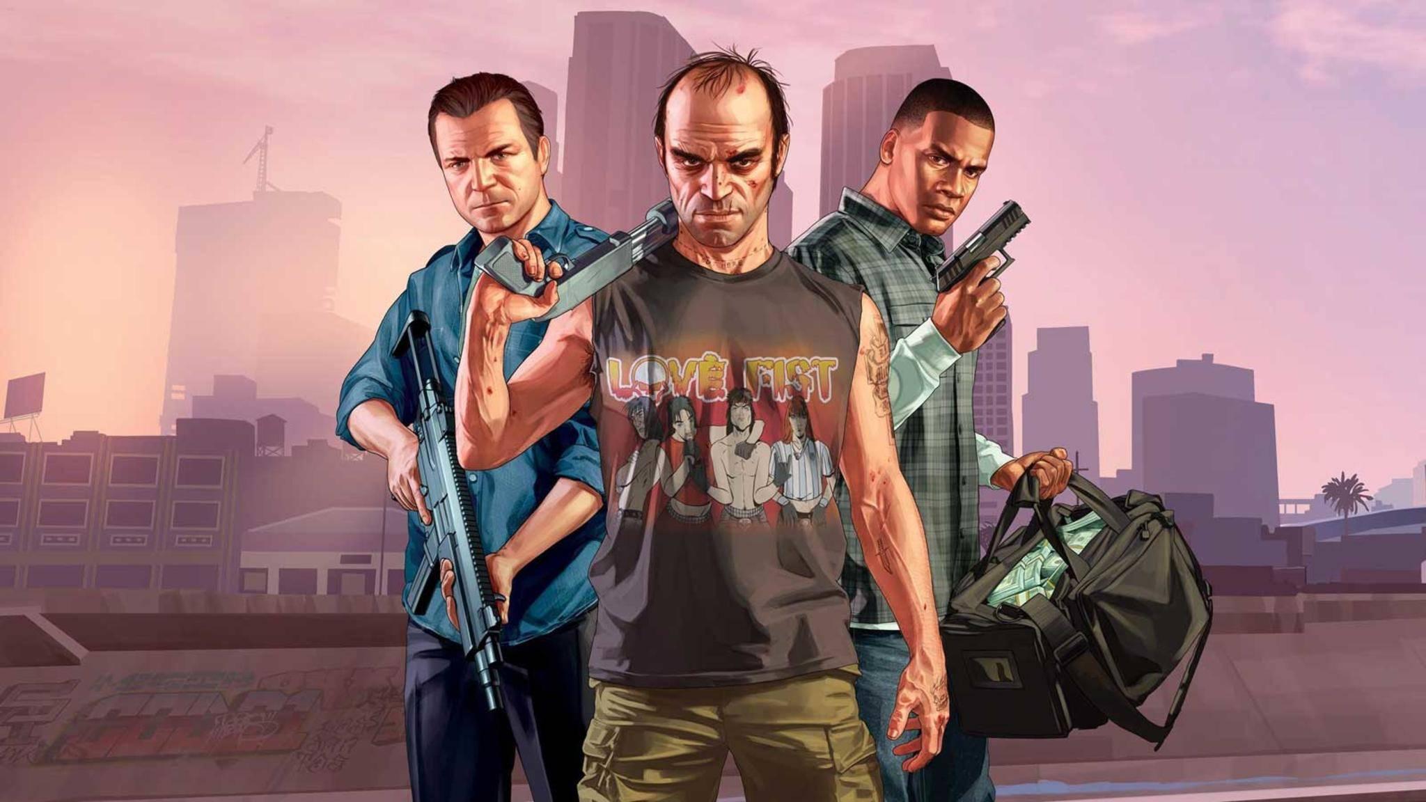 """Ein Game wie kaum ein zweites: """"GTA 5"""" von Rockstar Games."""