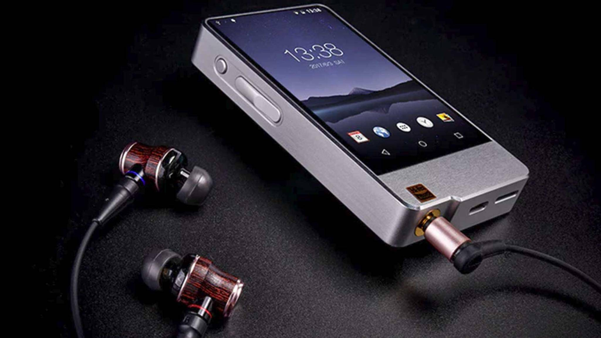 Der HIDIZS AP200 ist ein besonders edler MP3-Player und sucht bei Kickstarter nach Geldgebern.