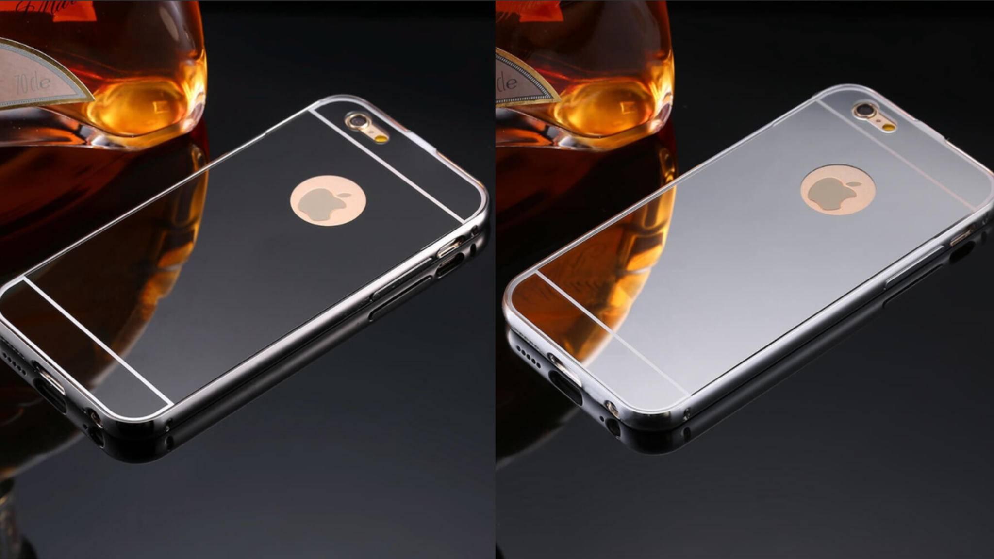 Das iPhone 8 soll auch mit spiegelnder Rückseite erscheinen.