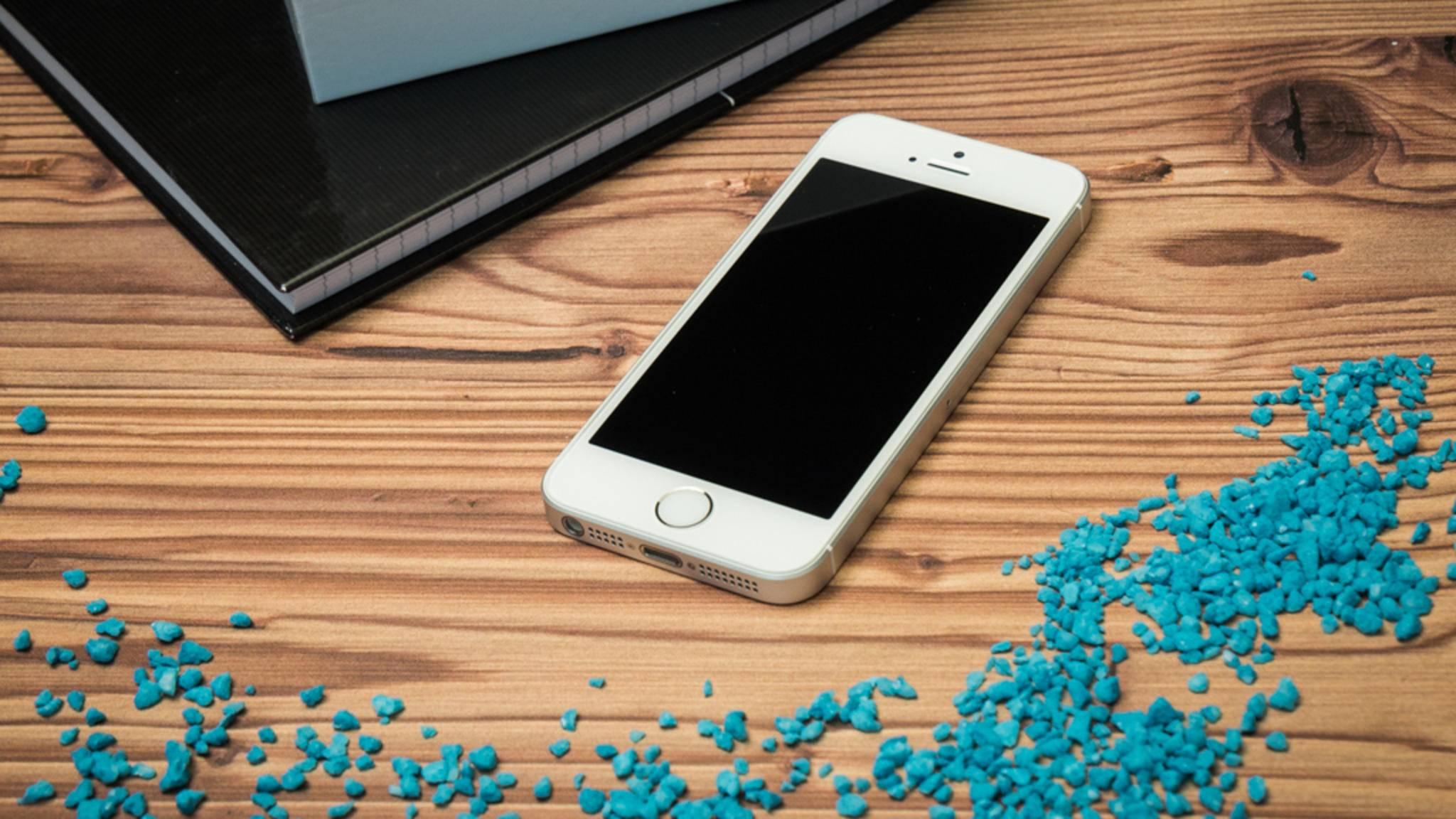 Das iPhone SE ist ein Gerät mit mittlerem SAR-Wert.