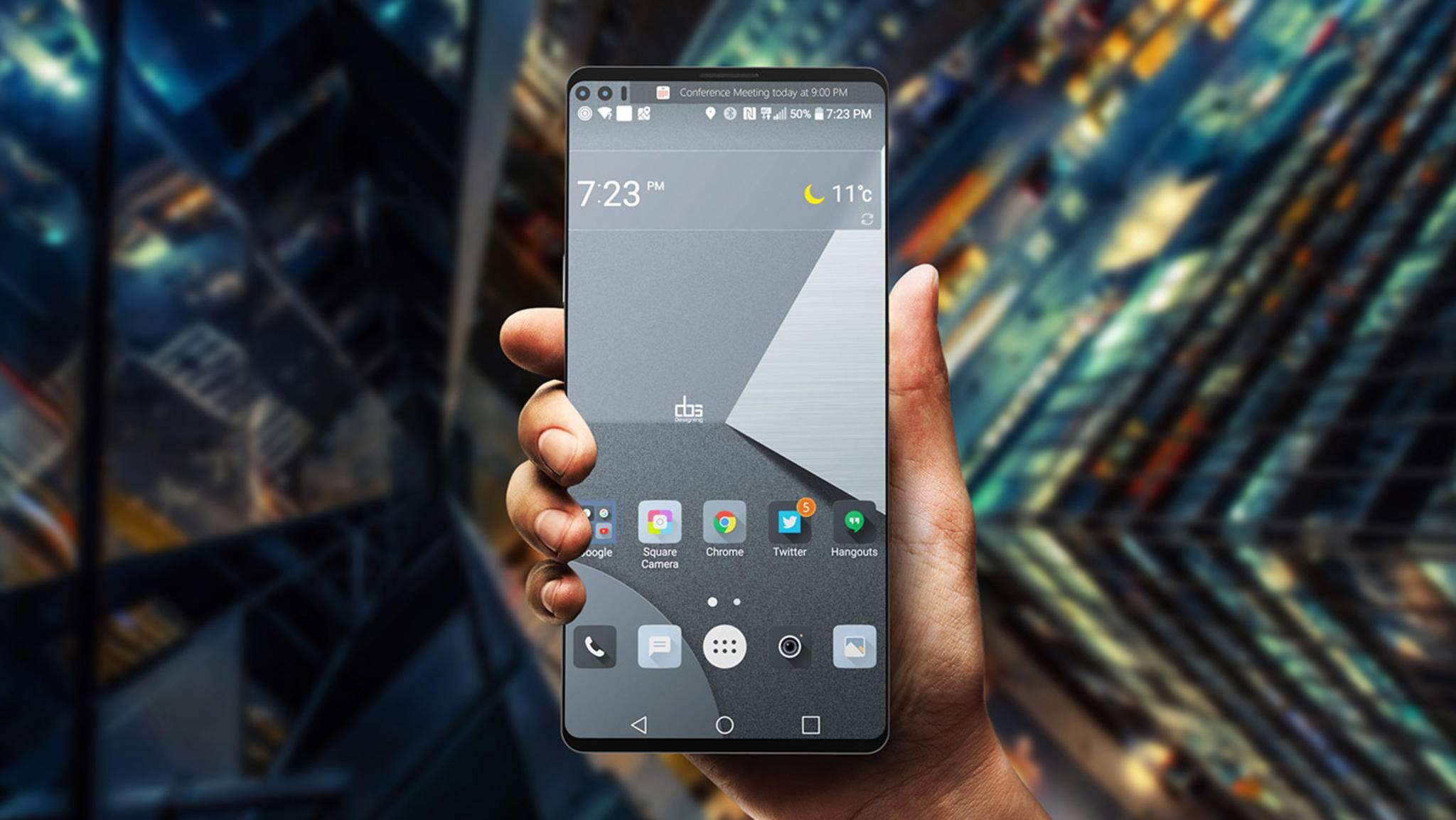 Das LG V30 wird Ende August vorgestellt.