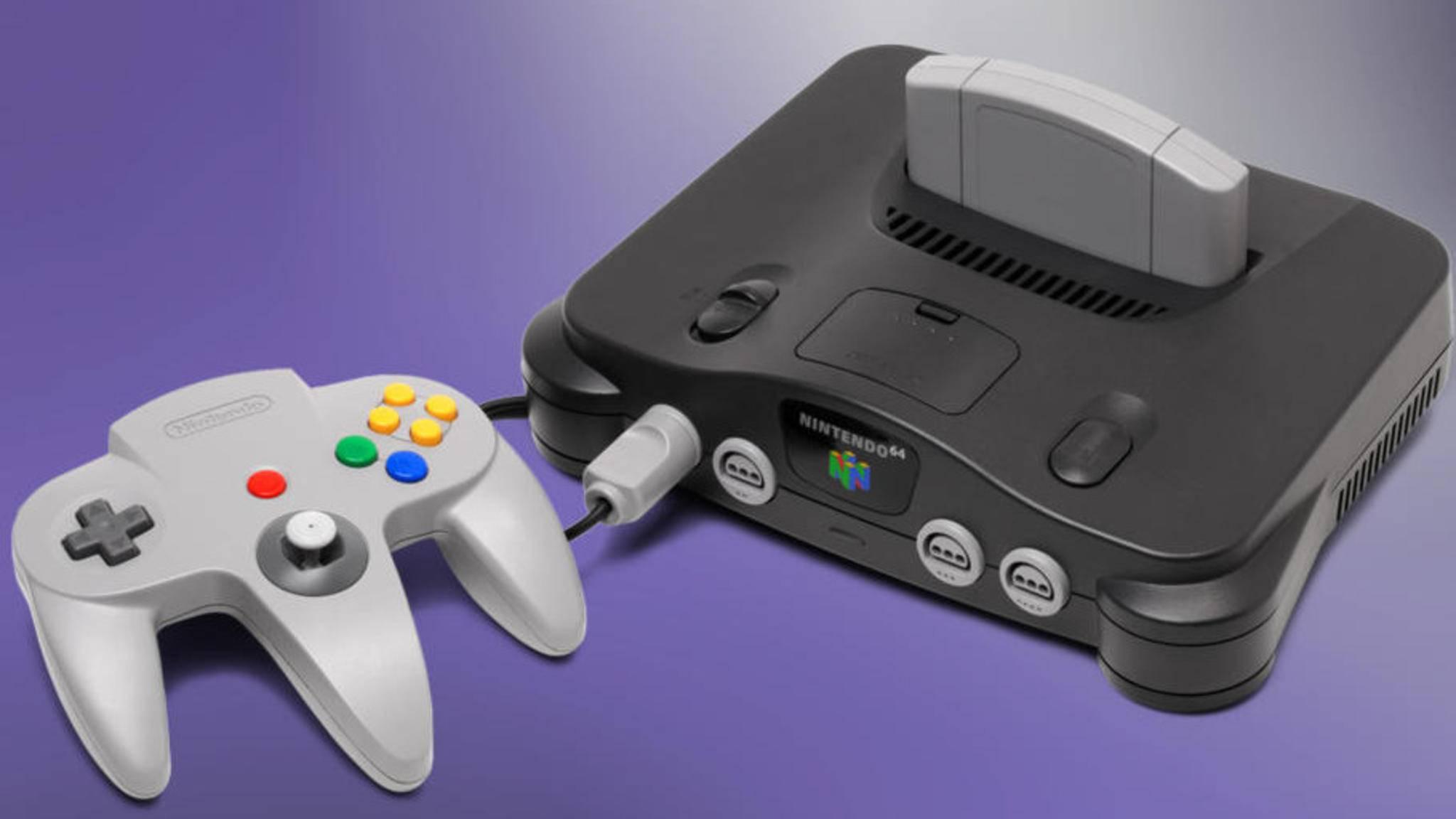 Nintendos N64 trug seinen Namen nicht zufällig – es war eine der ersten 64-Bit-Konsolen.