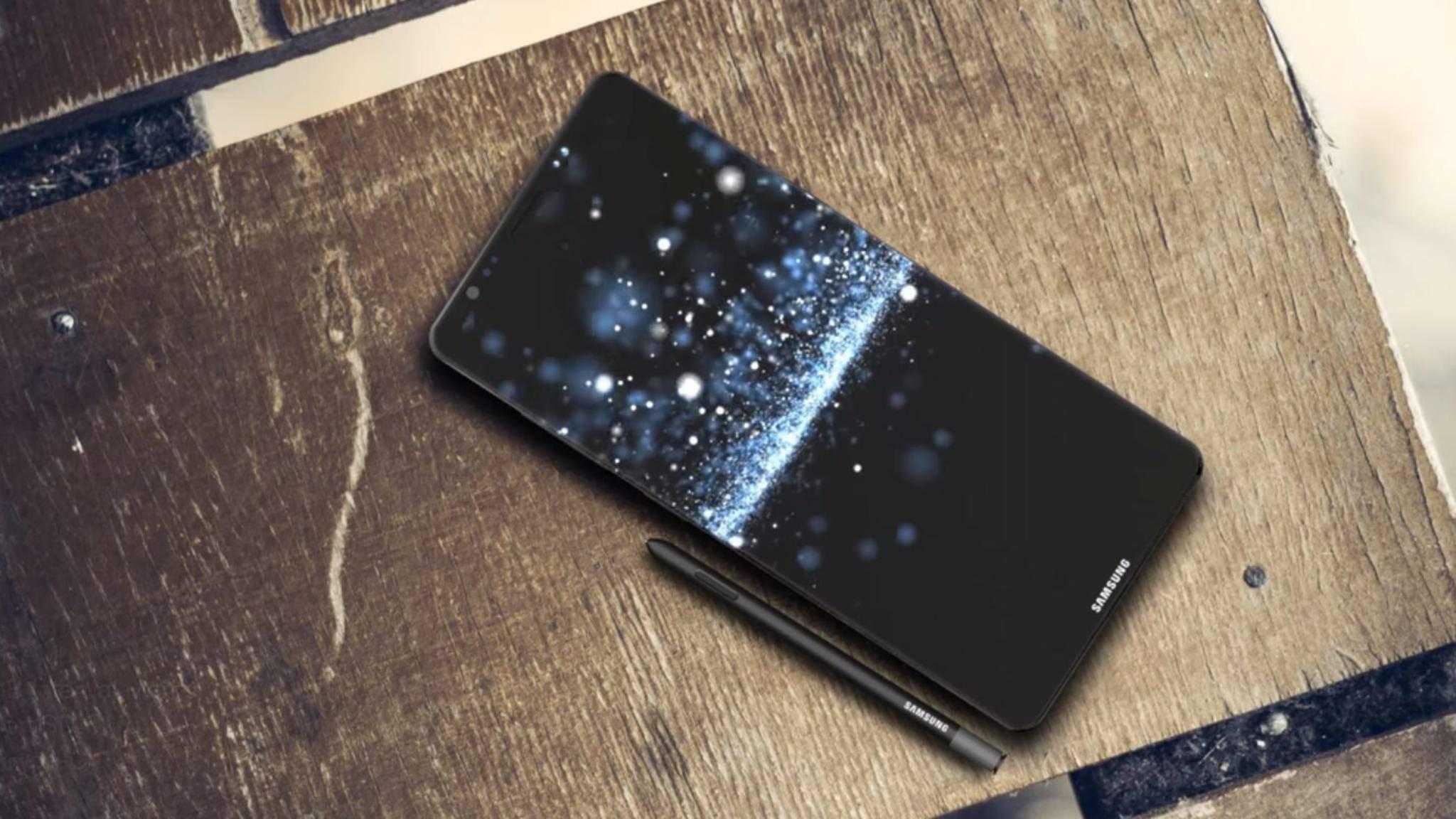 Das Galaxy Note 8 soll dank großem Screen besonders für Videos geeignet sein.