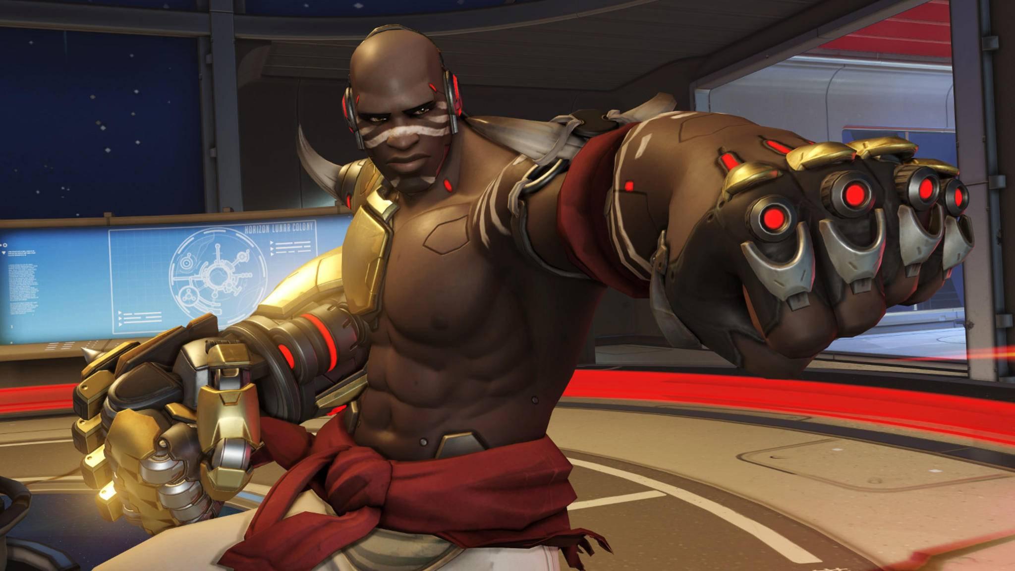 """Ein neues Update schreibt Doomfist fest ins """"Overwatch""""-Hauptspiel."""