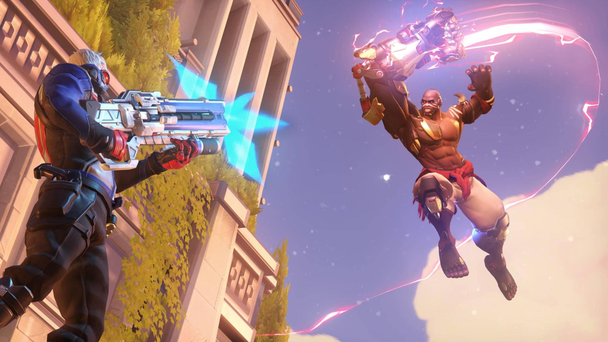"""Auge um Auge: """"Overwatch"""" bietet bald auch zwei Deathmatch-Modi."""