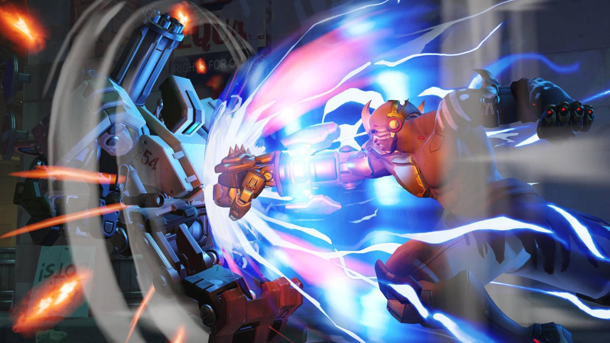 Auch Neuzugang Doomfist wird bei der Gamescom 2017 einen großen Auftritt bekommen.