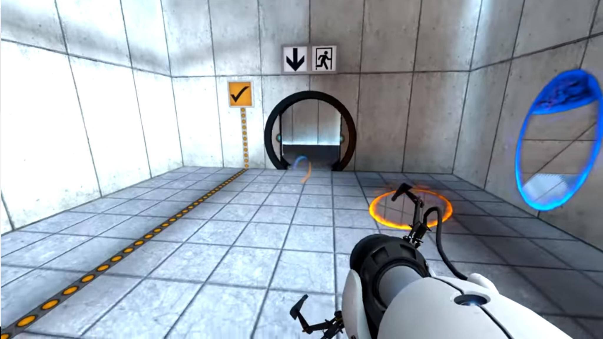 """Und hopp! Valve wollte statt """"Half-Life: Alyx"""" eigentlich ein """"Portal""""-VR-Spiel entwickeln."""