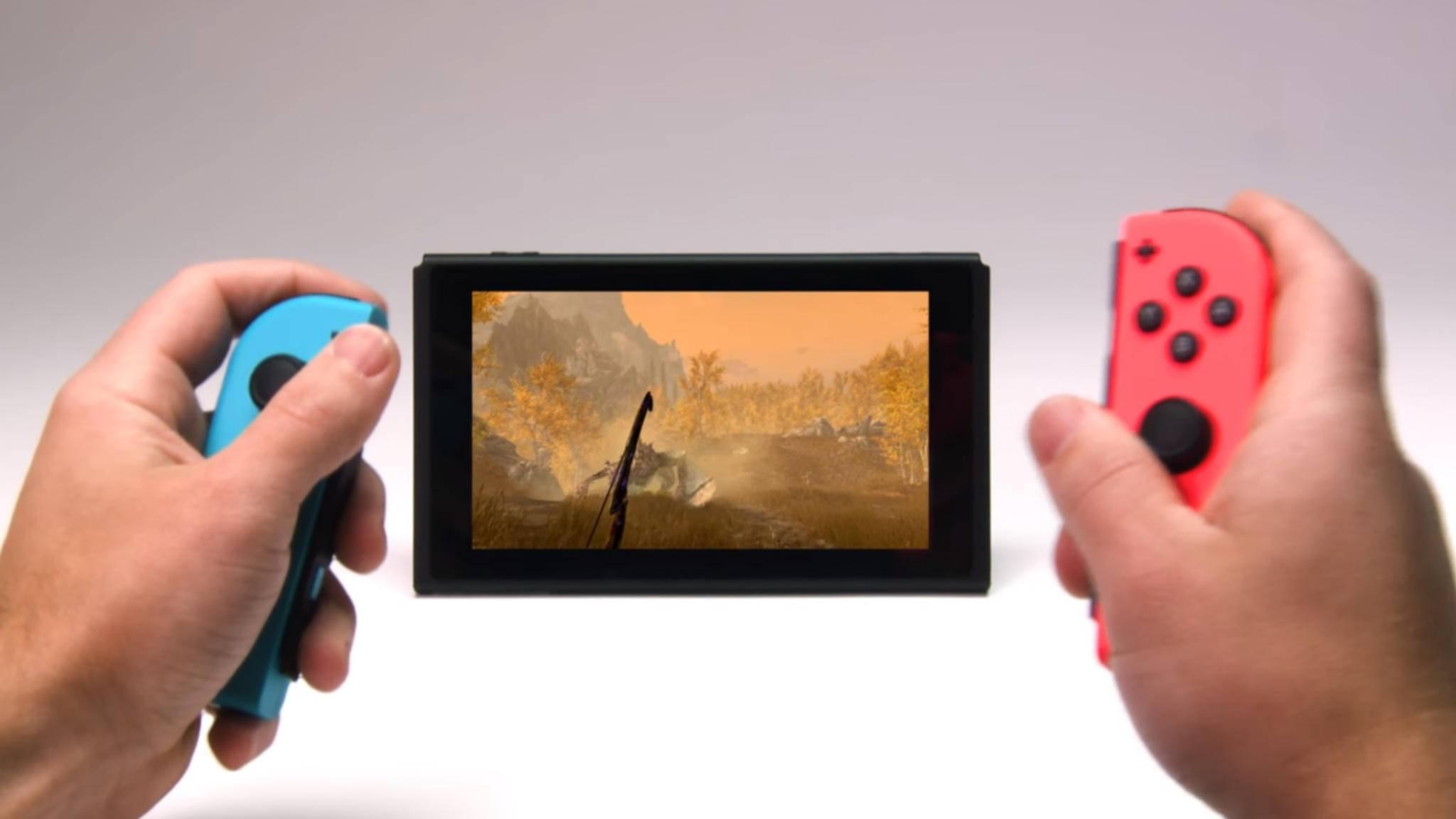 """""""Skyrim"""", """"Doom"""" und """"Wolfenstein 2"""" kommen schon auf die Nintendo Switch – und Entwickler Bethesda verspricht noch mehr Games."""