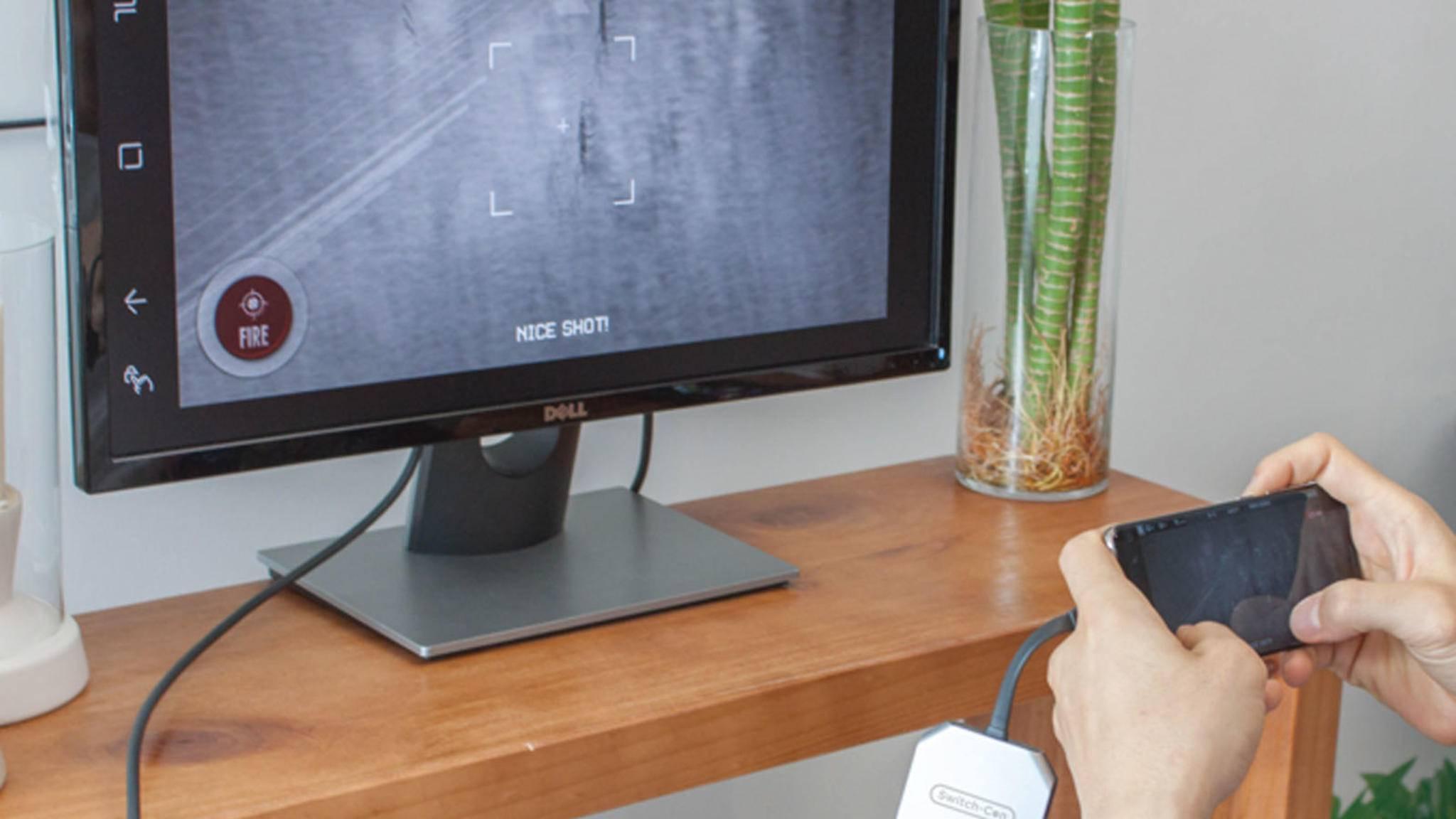 ... kann auch genutzt werden, um ein Galaxy S8 mit dem Fernseher zu verbinden ...