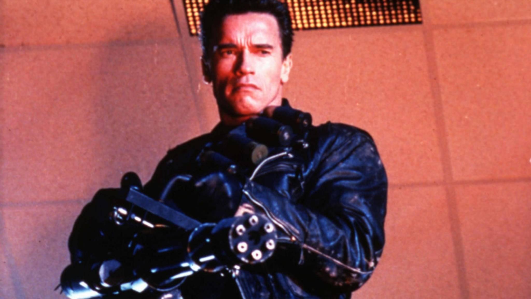 Arnold Schwarzeneggers Terminator onelinert sich demnächst in 3D über die Kinoleinwände.
