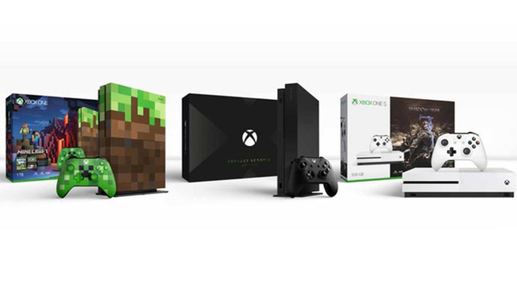 Zur Gamescom 2017 kündigt Microsoft neue Konsolen-Versionen an.
