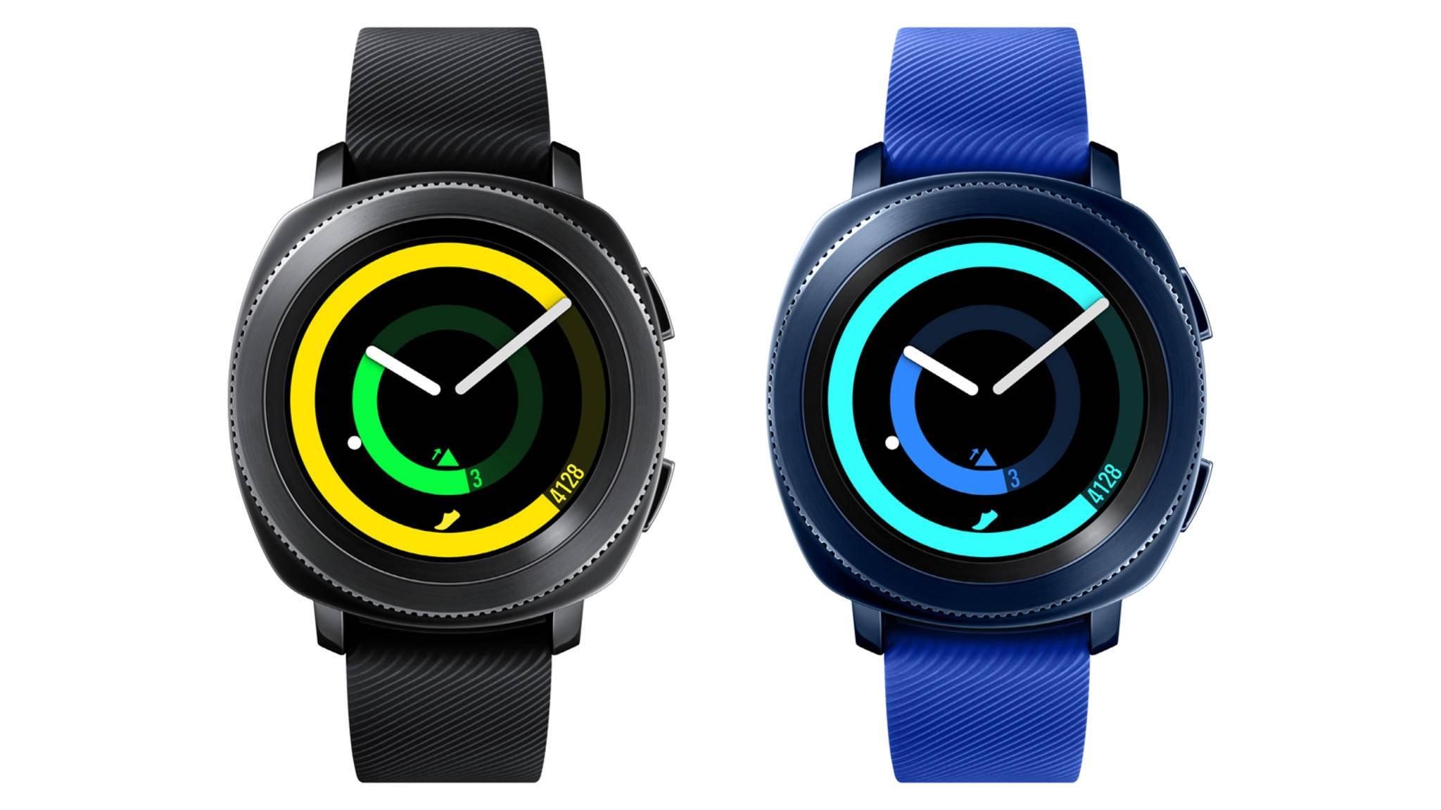 Erinnert optisch an die Samsung Gear S3: die neue Samsung Gear Sport.
