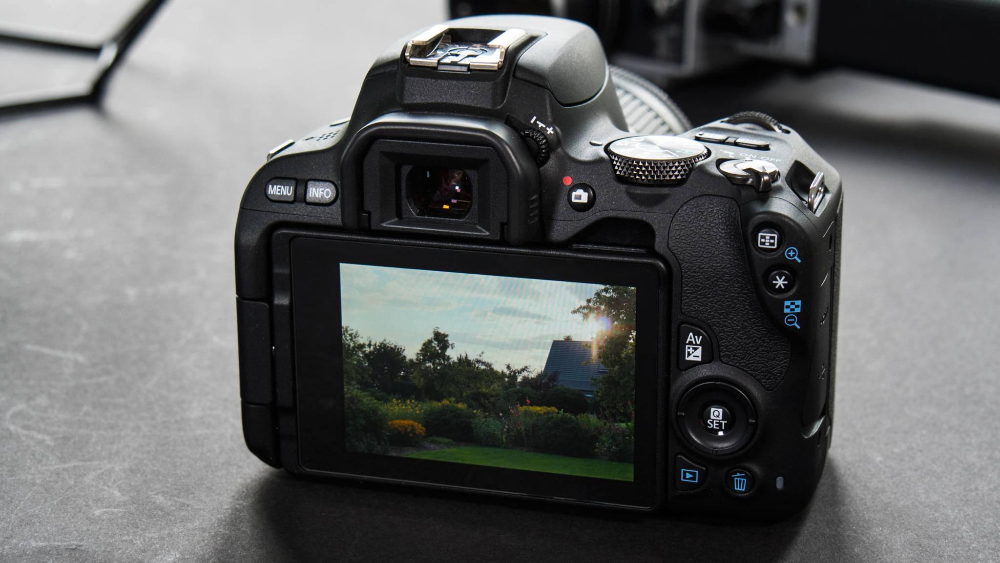 Damit gewinnt der Fotograf etwas Flexibilität.