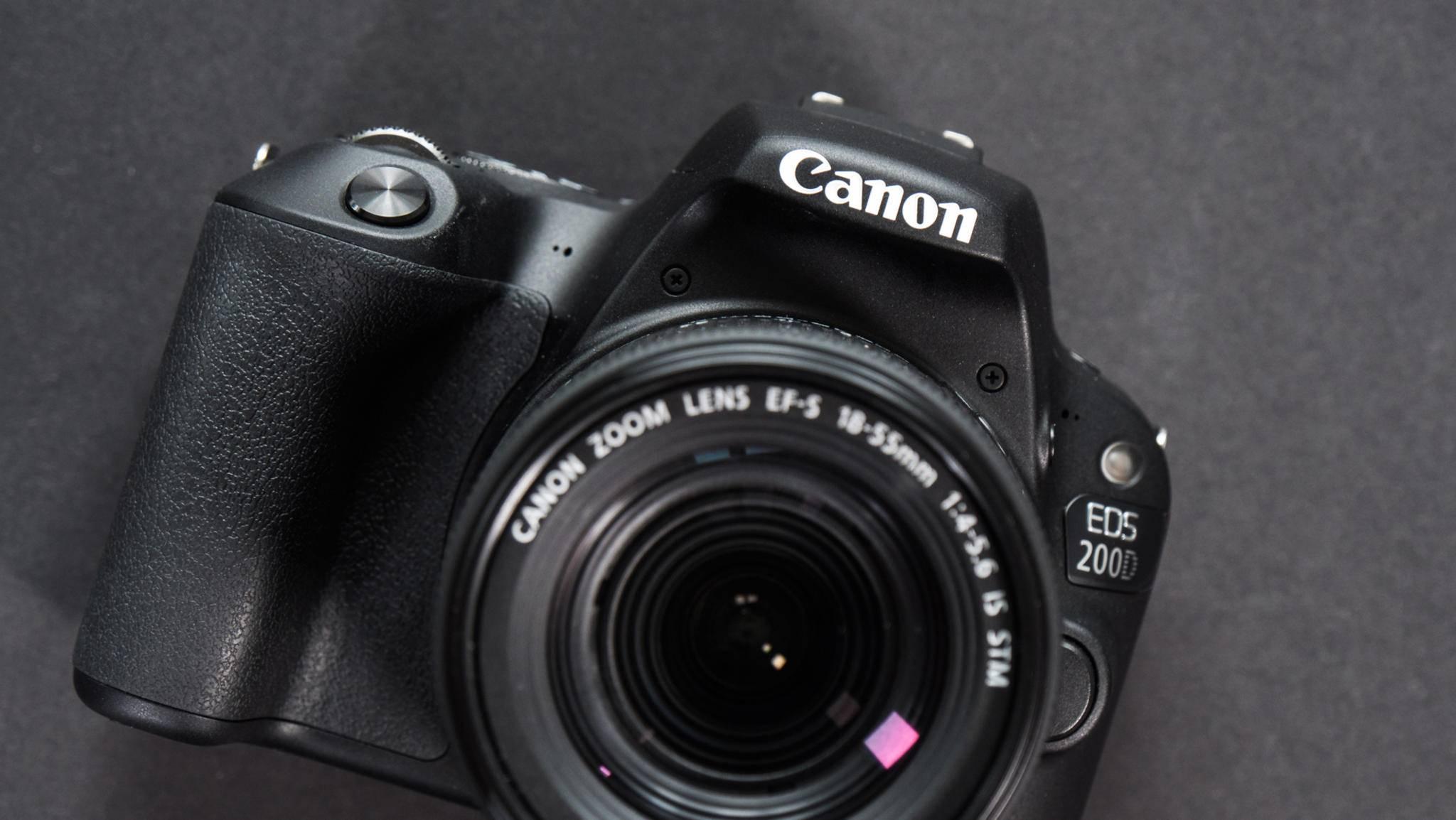 Die Canon EOS 200D richtet sich vornehmlich an Einsteiger.