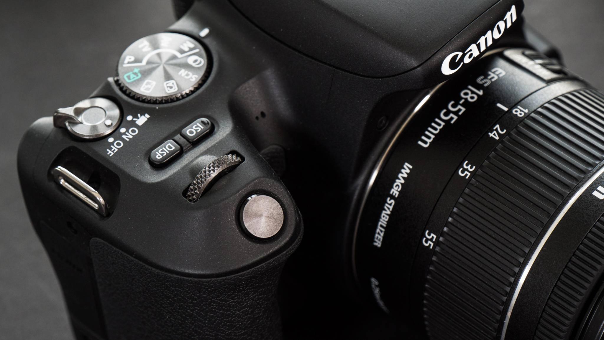 Im Test stand das EF-S 18-55mm 1:4-5,6 IS STM zur Verfügung.