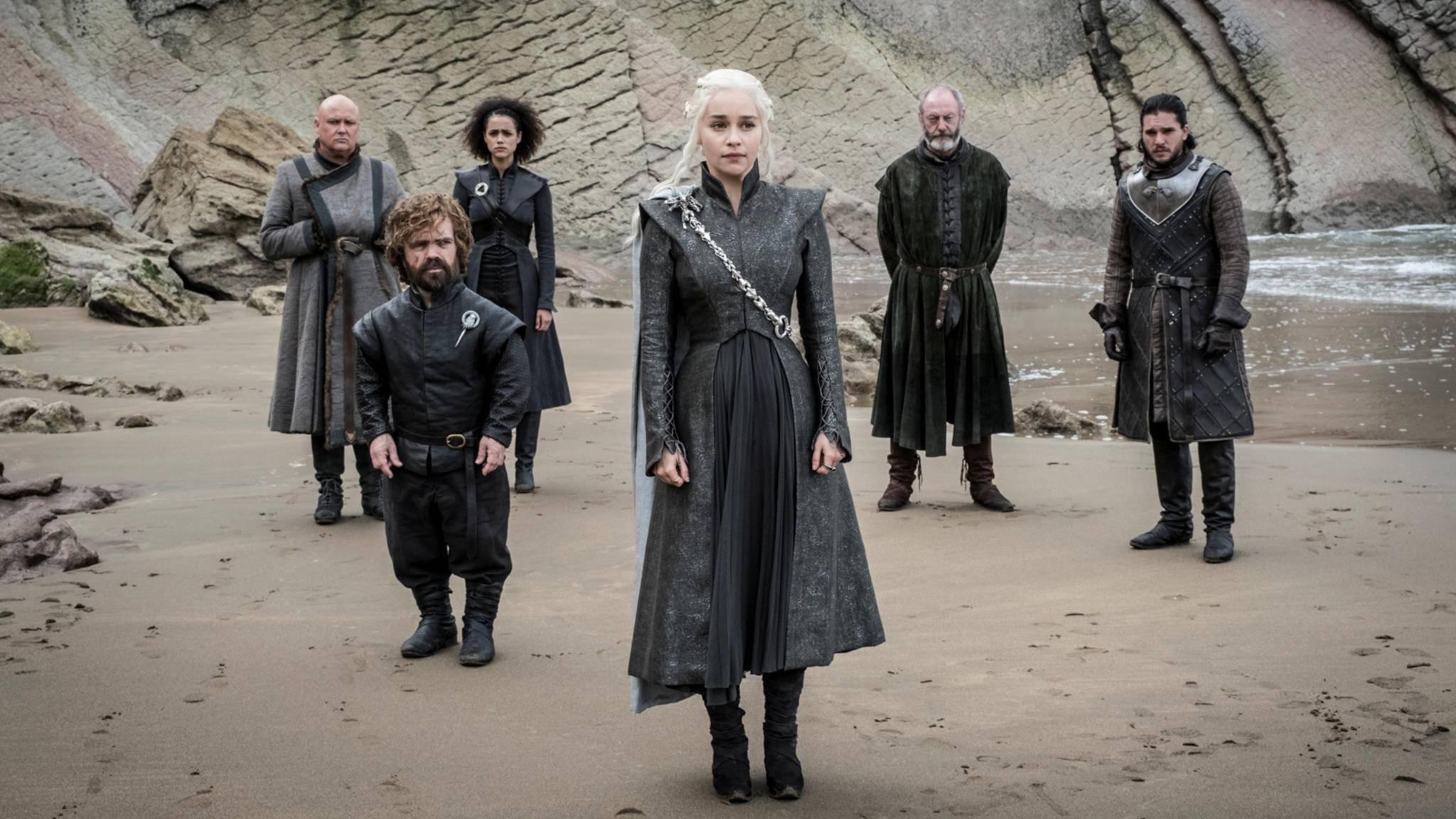 Die Kostüme von Daenerys Targaryen spiegeln zunehmend ihre Stärke wieder.