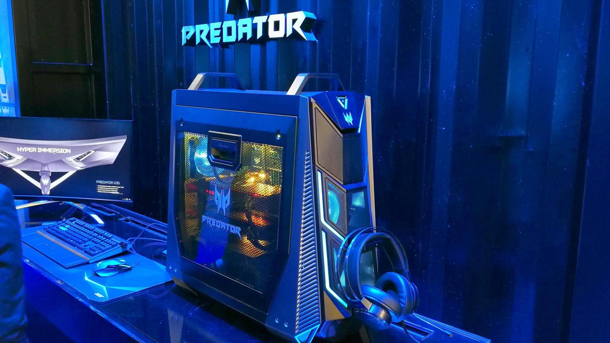 Auch aus starken Gaming-PCs wie dem Acer Predator Orion lässt sich noch mehr Leistung rauskitzeln.