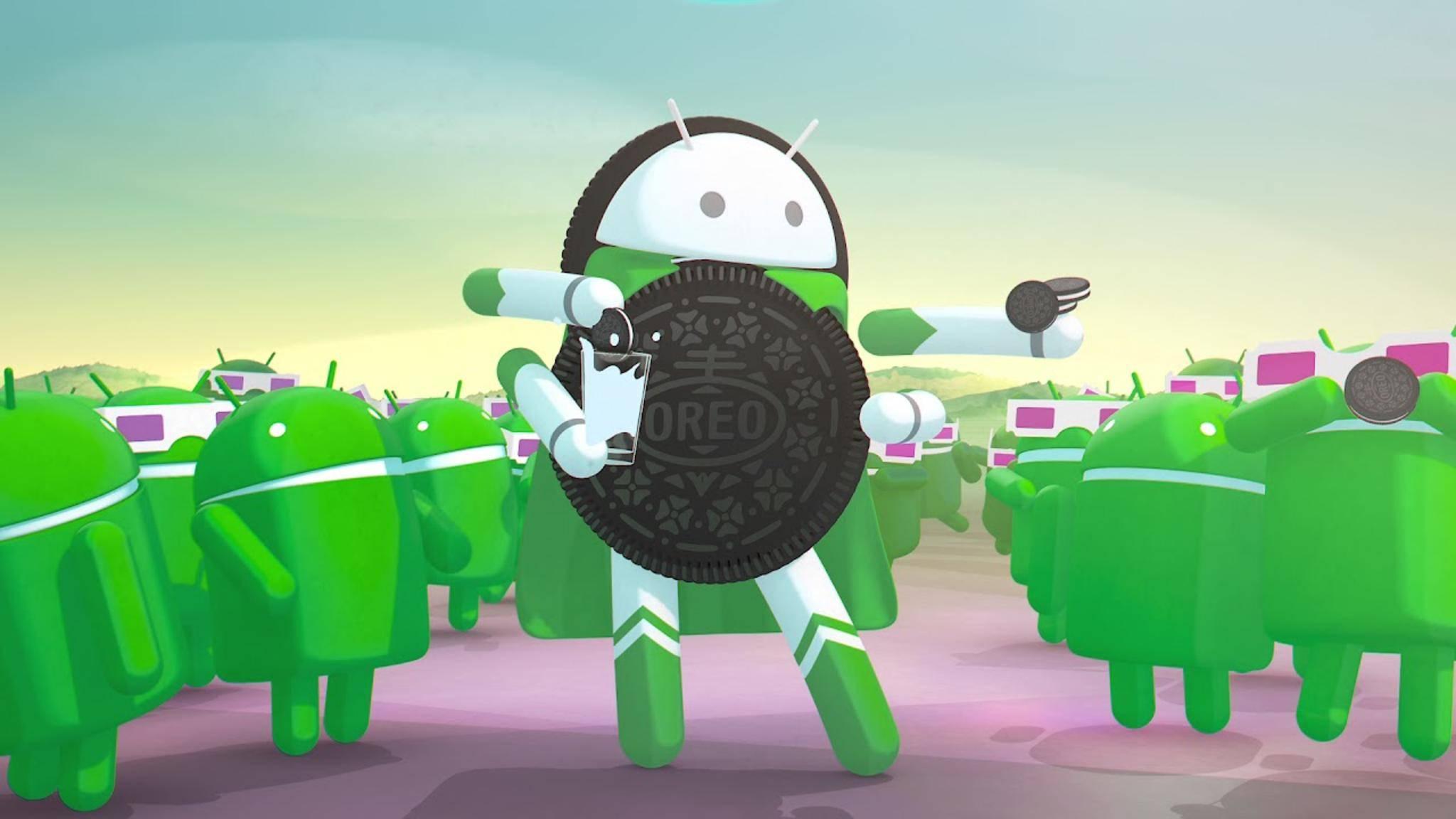 Android 8.0 ist für das Galaxy S8 in Entwicklung.
