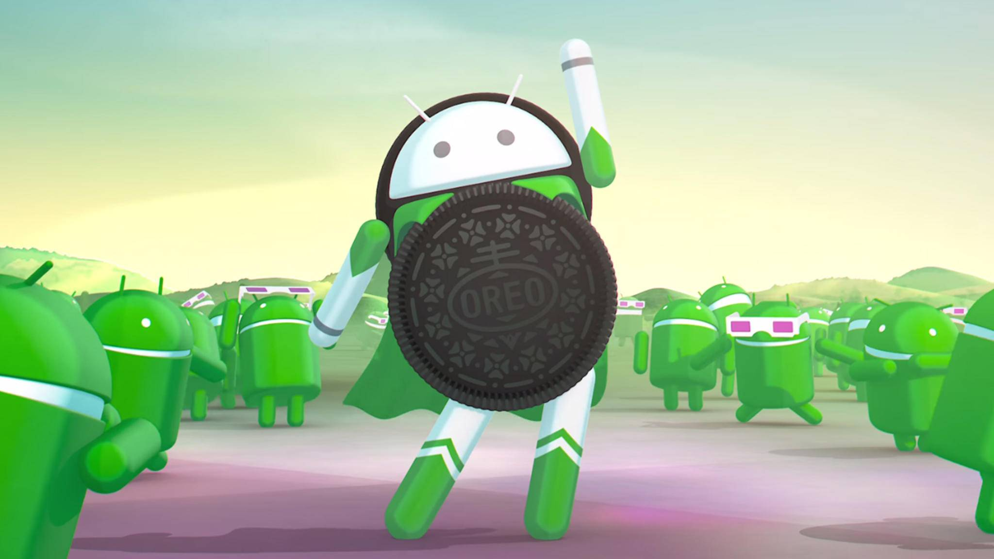 Keine Überraschung: Das O in Android 8.0 steht für Oreo.