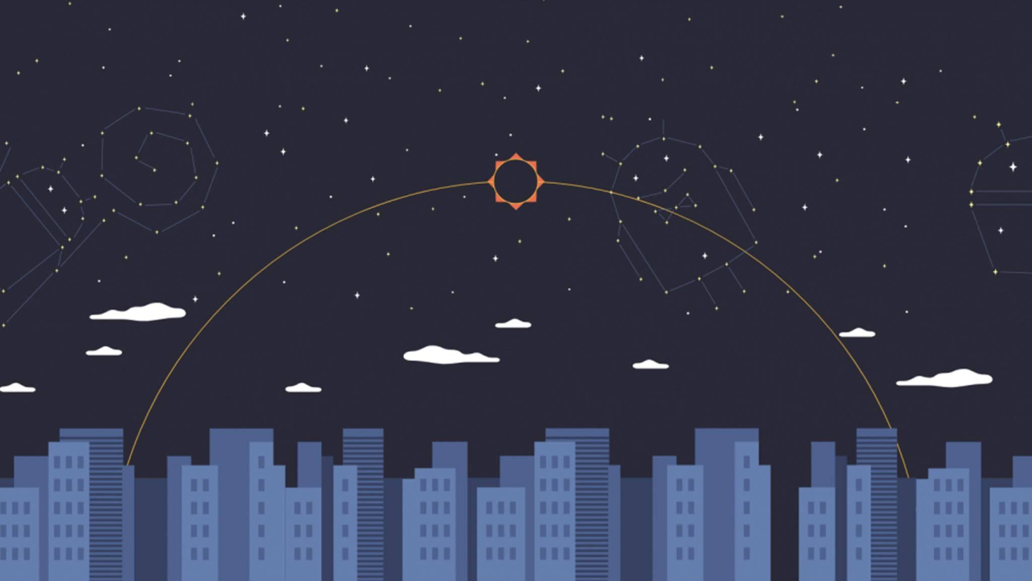 Google nimmt die Sonnenfinsternis am Montag zum Anlass, um Android 8.0 O vorzustellen.