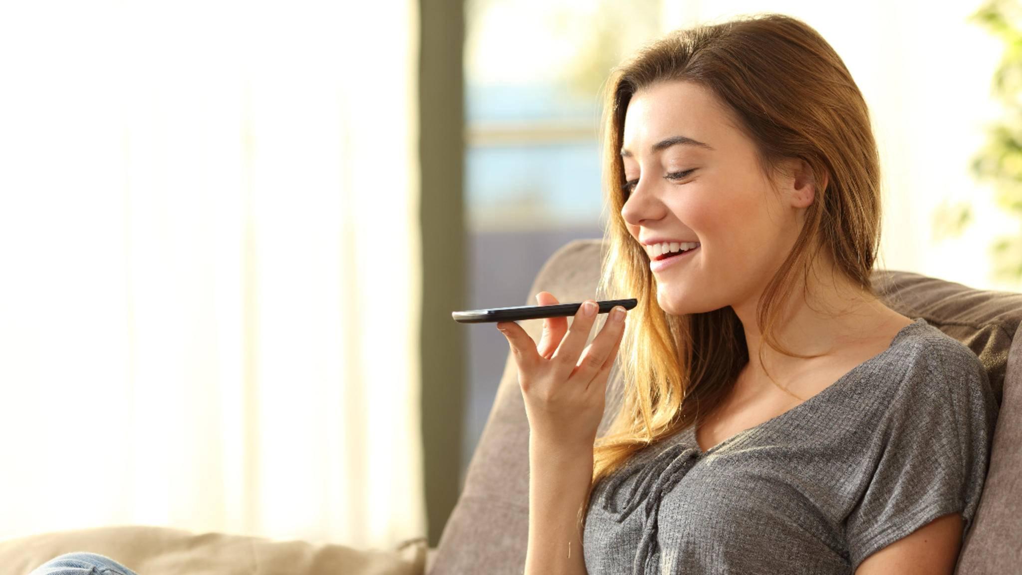 Android-Smartphones lassen sich über Sprachbefehle steuern.