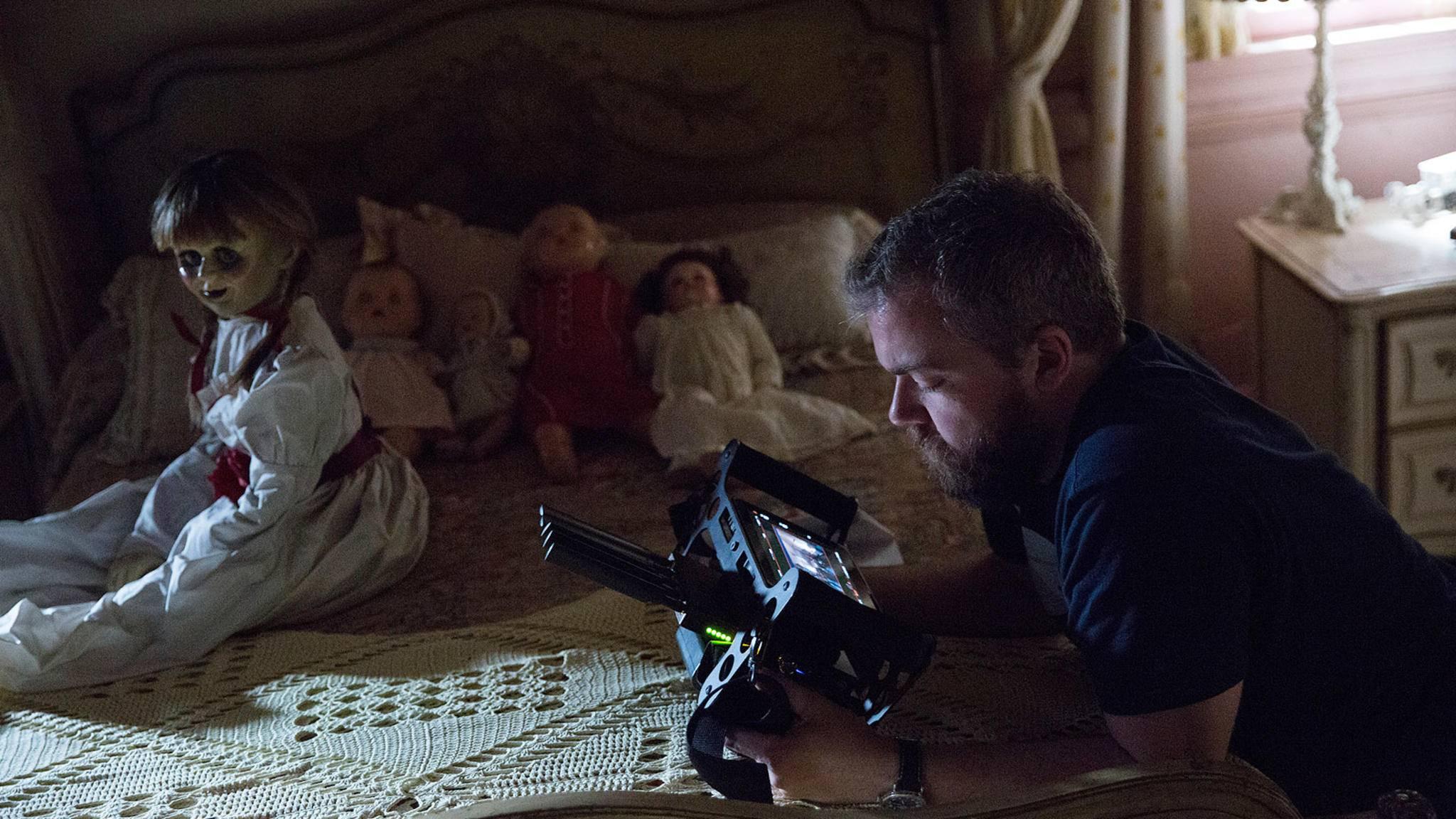 """David F. Sandberg hat für die Zeit nach """"Annabelle: Creation"""" offenbar bereits große Pläne."""