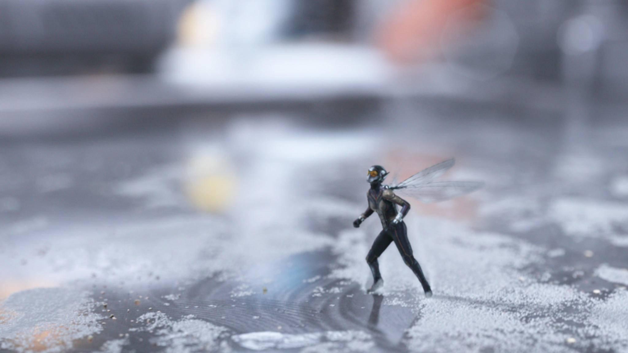 """""""Ant-Man and the Wasp"""" können auch klein ganz groß sein!"""