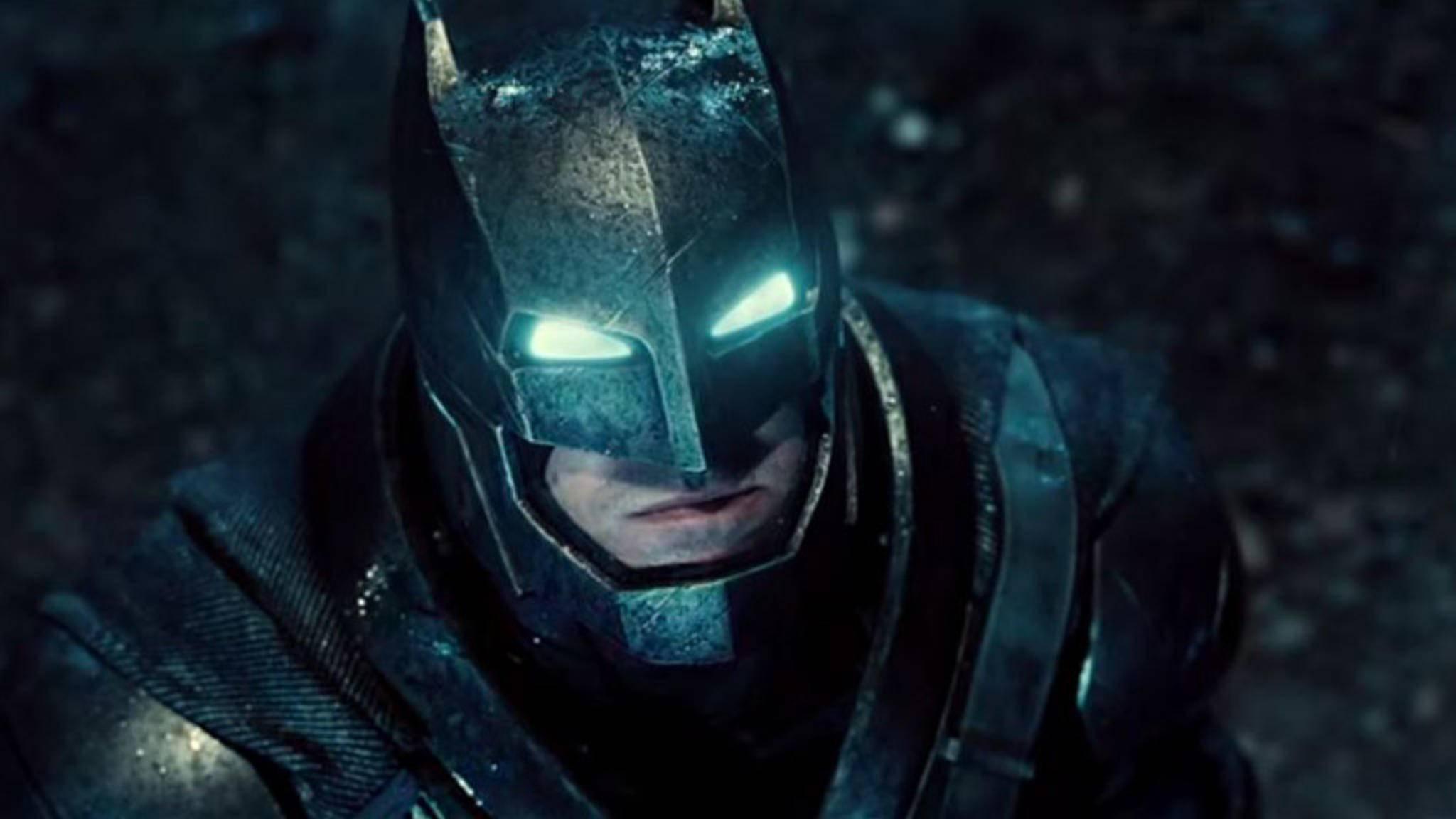 Nicht schon wieder! Ben Afflecks Rolle als Batman steht gerüchteweise mal wieder auf der Kippe.