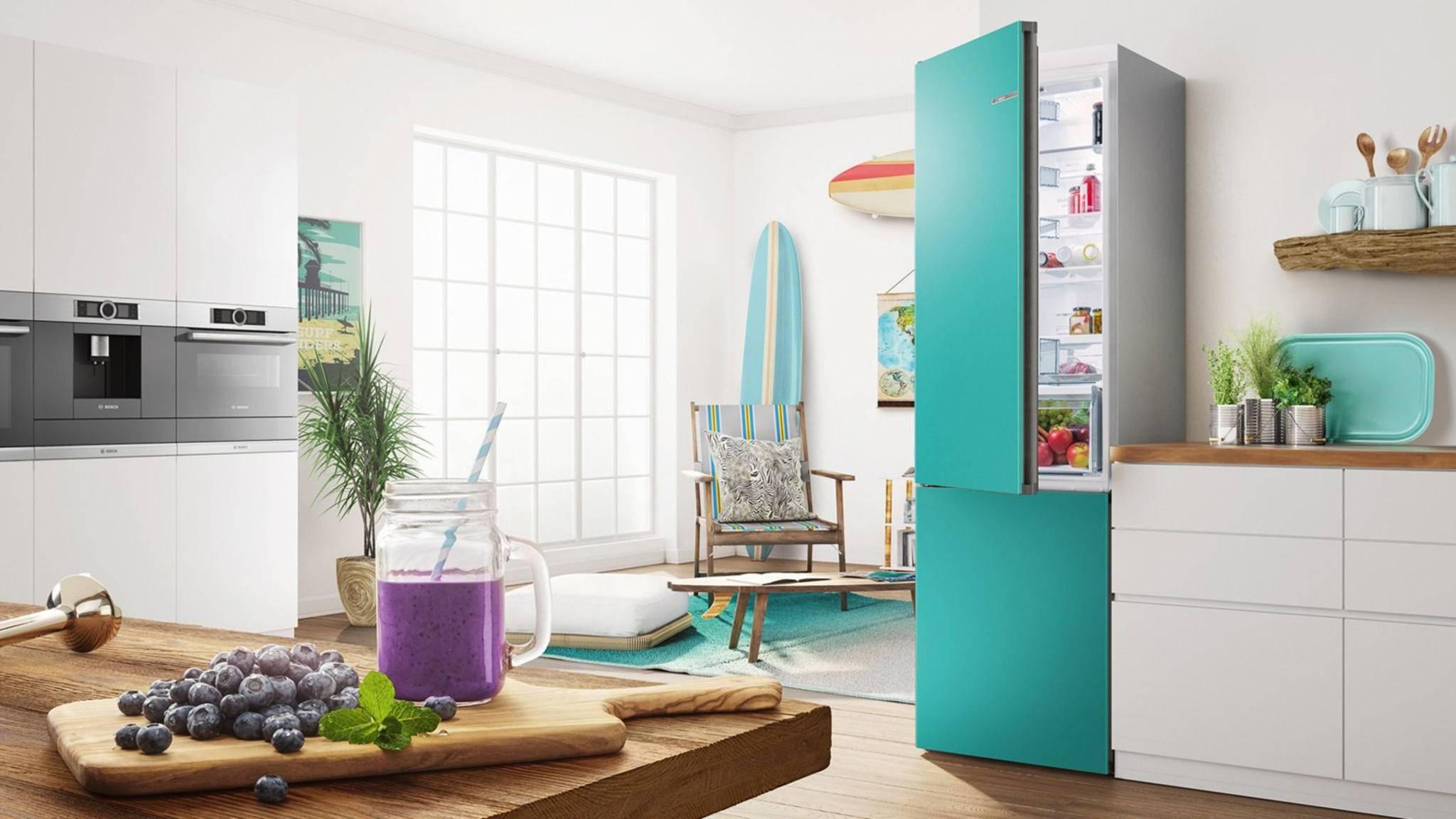Bosch Kühlschrank Zu Laut : Vario style dieser kühlschrank wechselt im nu seine farbe