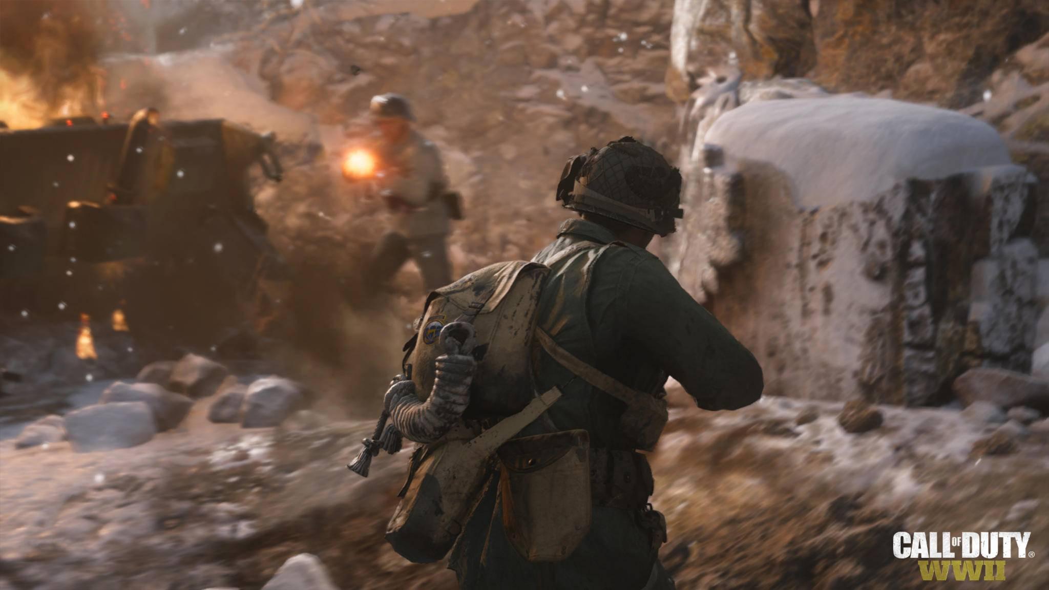 """PS4-Spieler können sich schon früher in die """"Call of Duty: WW2""""-Beta stürzen."""