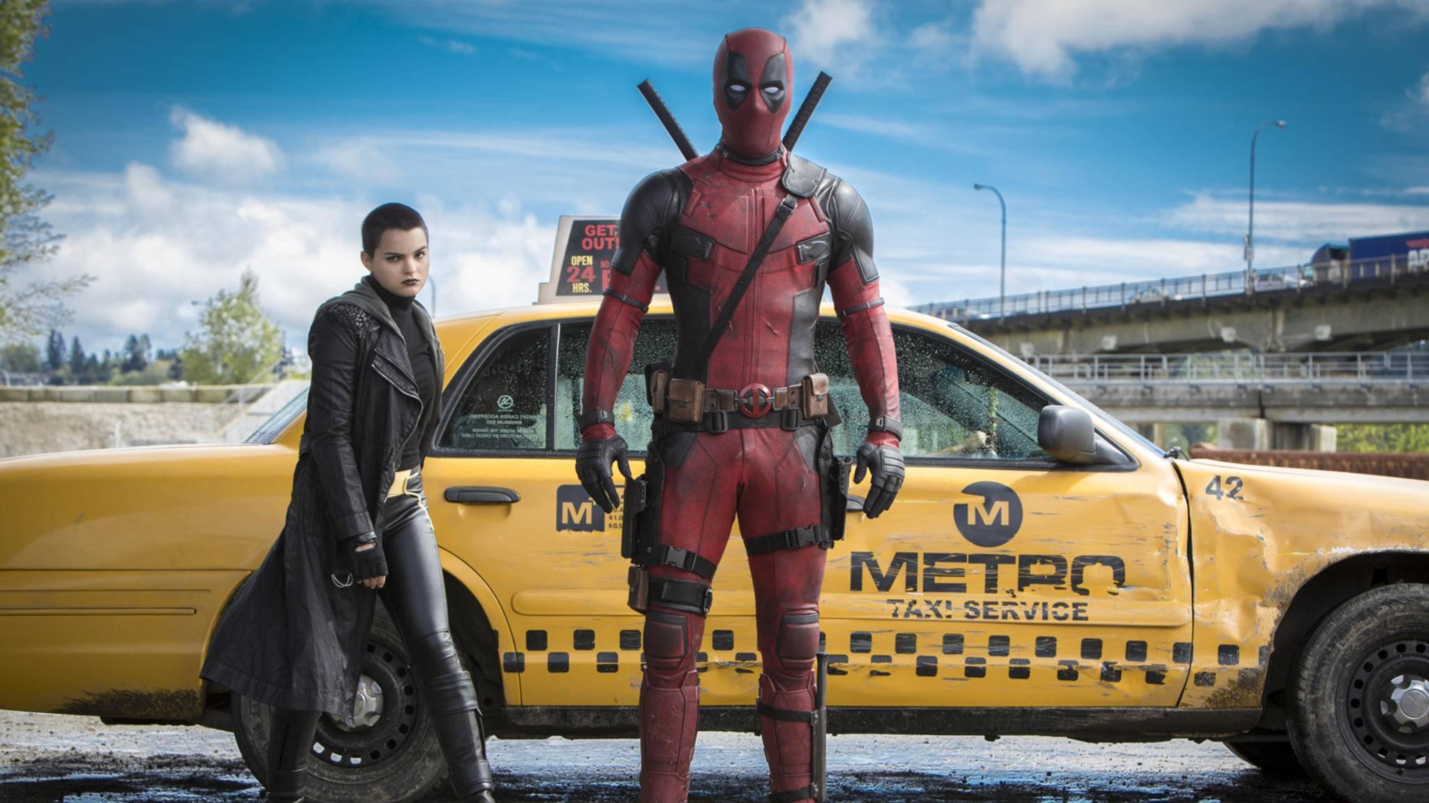 """In """"Deadpool 2"""" bekommt Söldner Wade mit Cable und Domino schlagkräftige Unterstützung."""