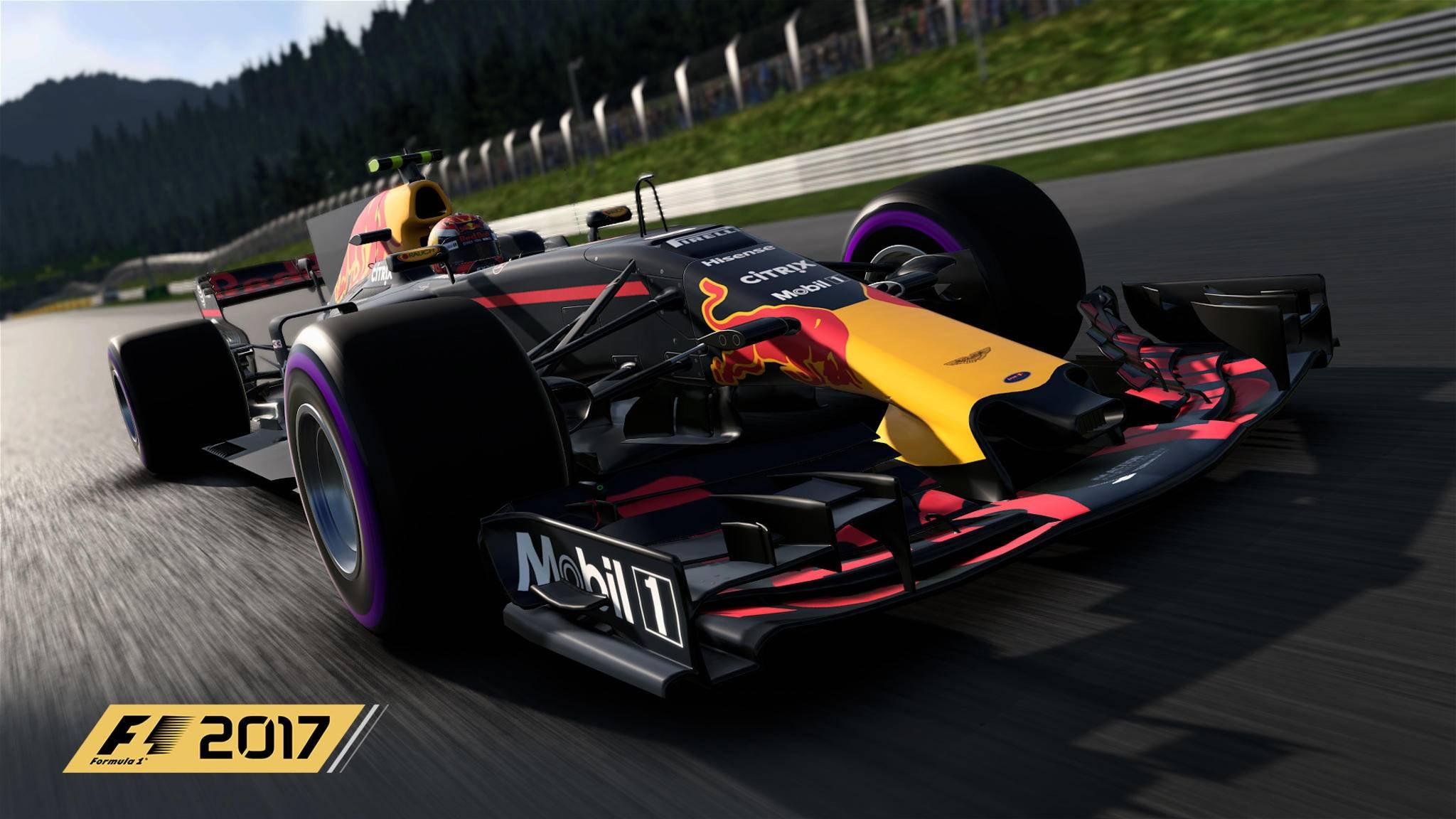 """TURN ON hat mit den Machern von """"F1 2017"""" gesprochen."""