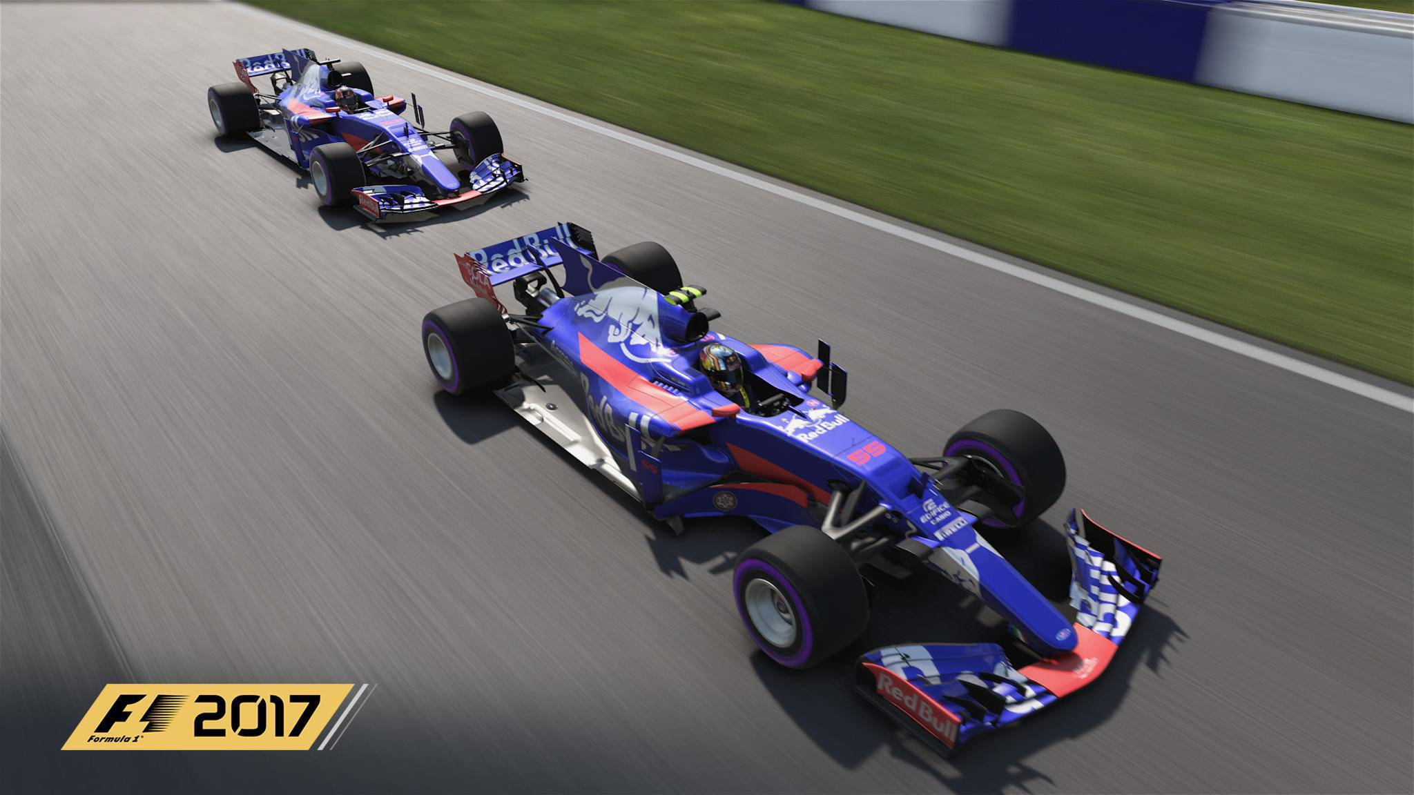 """""""F1 2017"""" begibt sich langsam an die Startampel."""