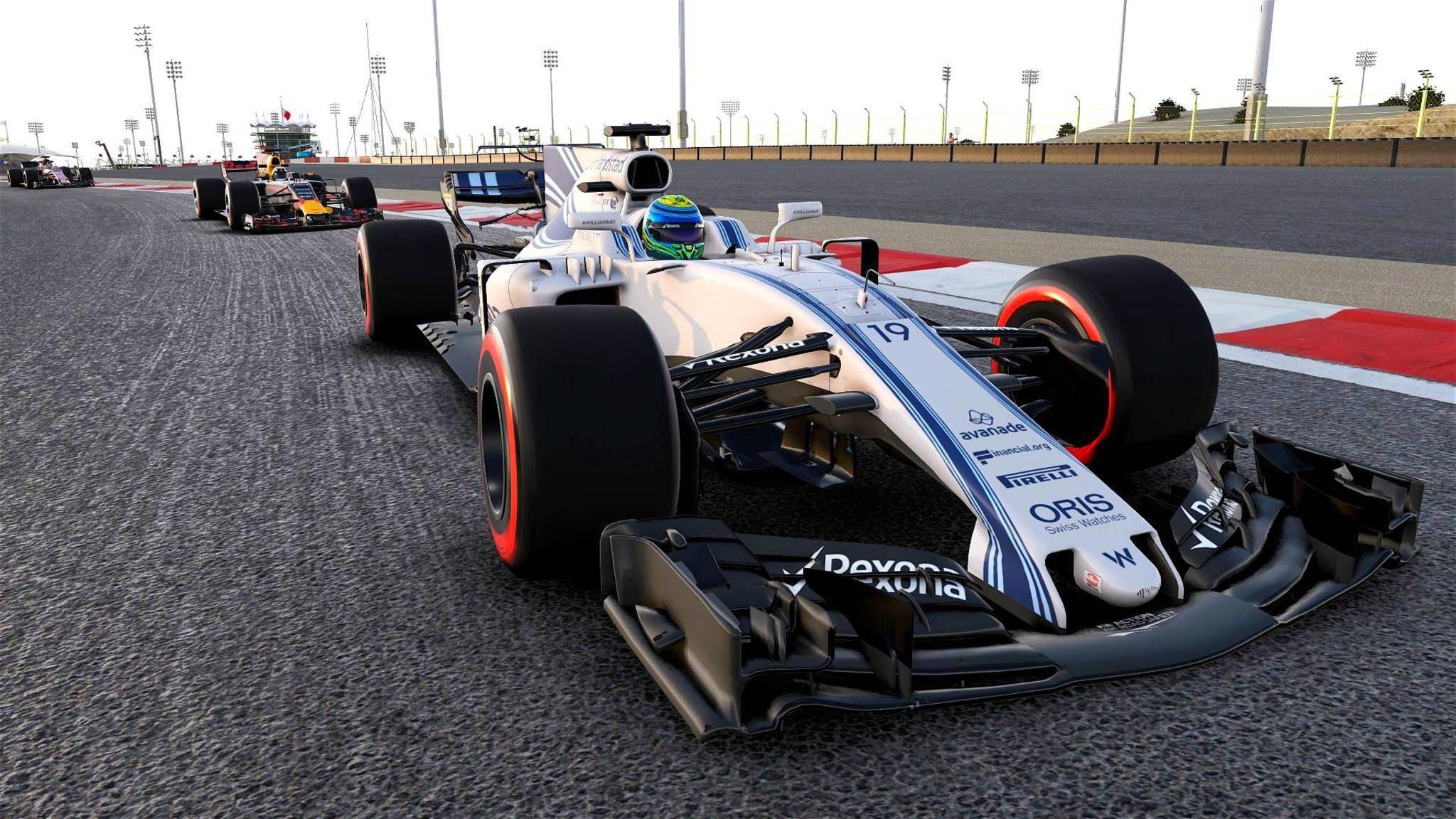 """""""F1 2017"""" bietet virtuellen Formel-1-Rennsport vom Feinsten."""