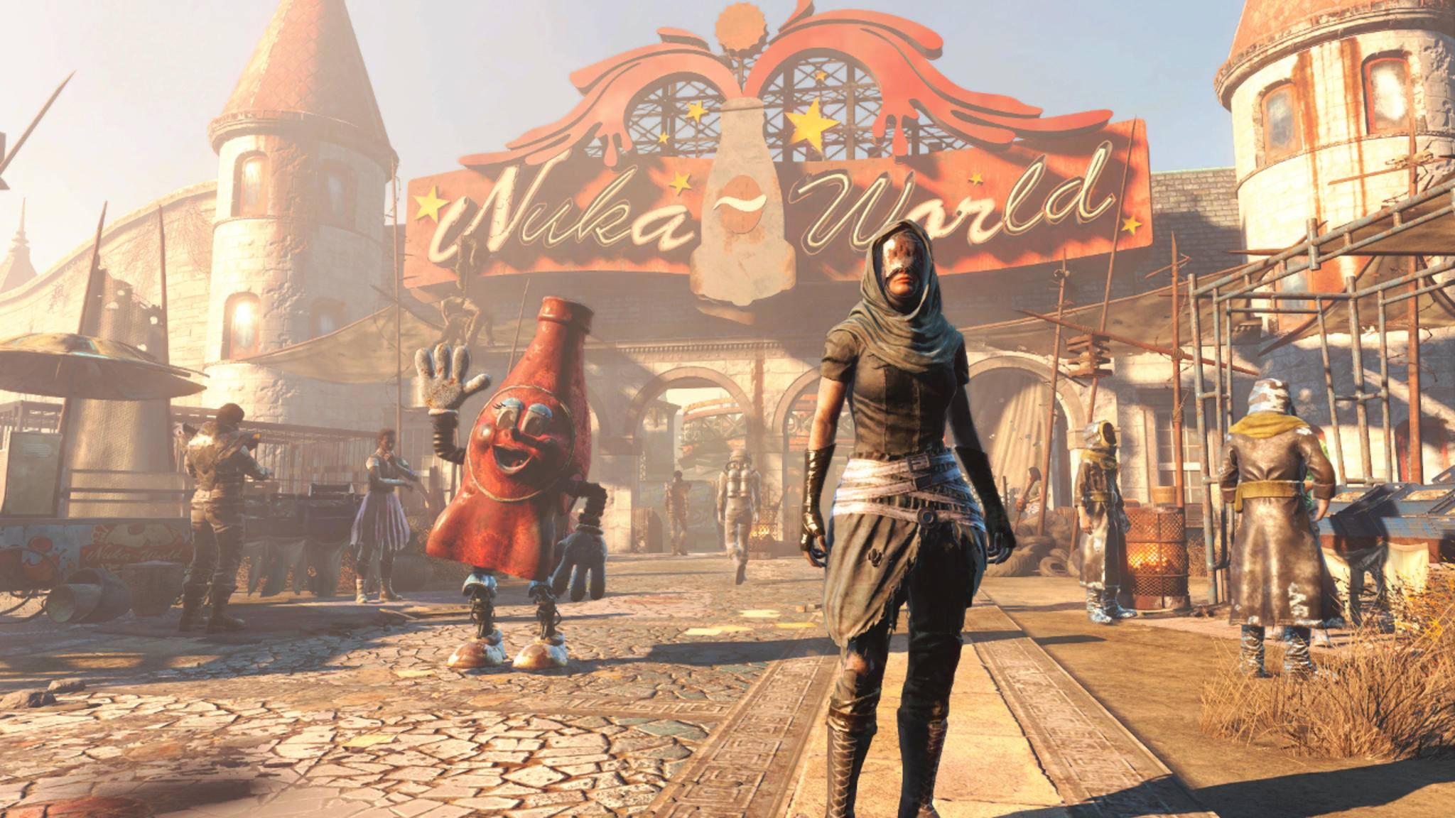 """In der """"Game of the Year""""-Edition von """"Fallout 4"""" sind alle DLCs wie etwa """"Nuka-World"""" enthalten."""