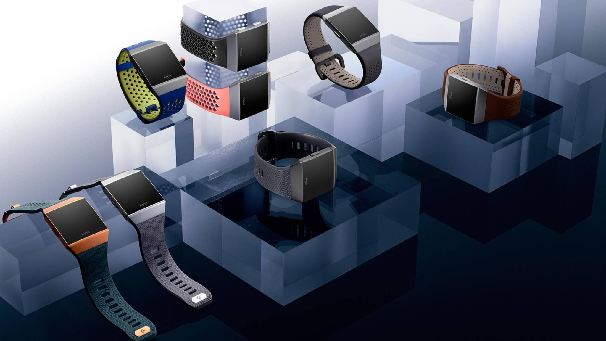 Laut Fitbit soll es nicht nur bei der Ionic bleiben. Der Konzern plant mit weiteren Smartwatches.