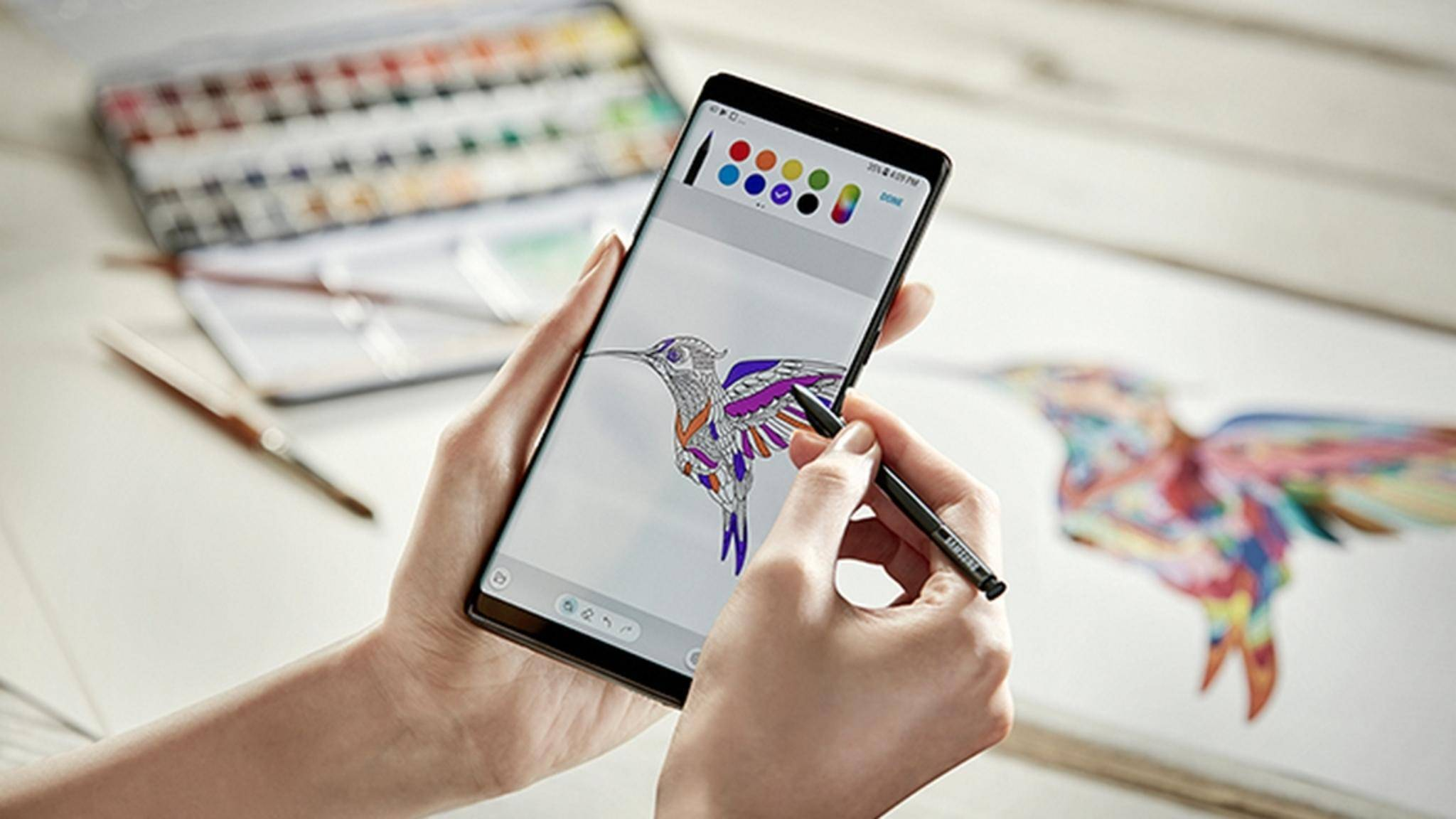 Das Galaxy Note 8 hat laut Test den besten Screen aller Smartphones.