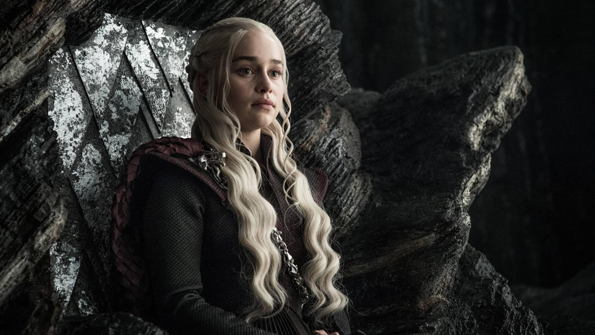 """In der siebten """"Game of Thrones""""-Staffel legt Daenerys einen königlichen Auftritt hin."""