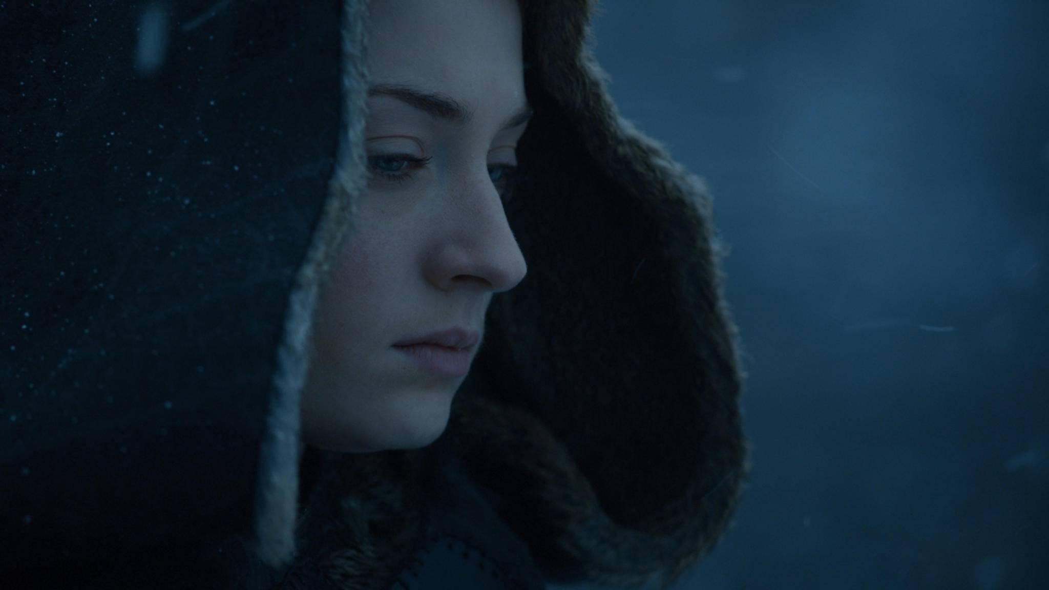 """Wie endet """"Game of Thrones""""? Sophie Turner weiß es – aber nicht allen wird's gefallen."""