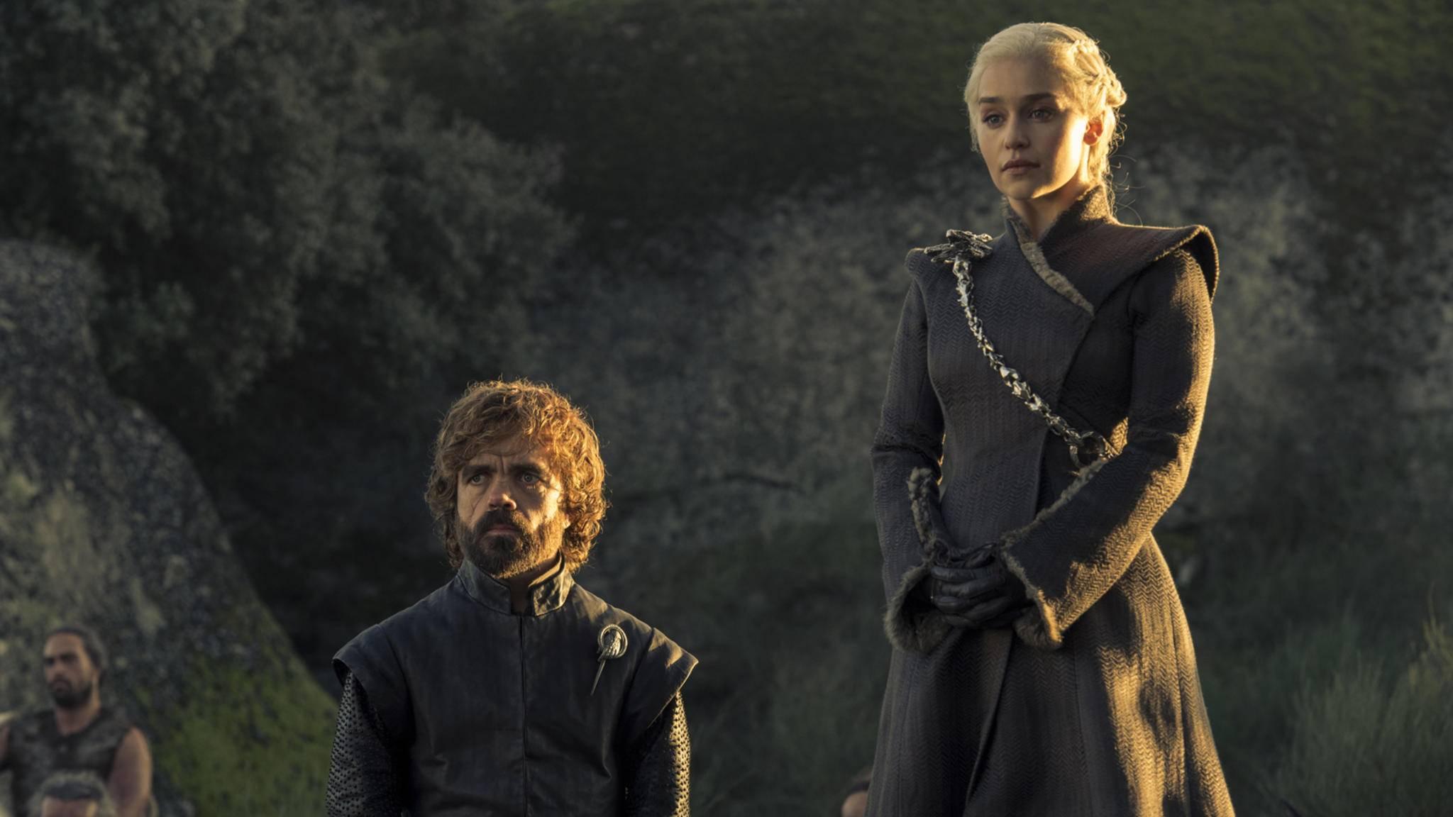 """Sowohl Peter Dinklage als auch Emilia Clarke verdienen sich bei """"Game of Thrones"""" eine goldene Nase."""