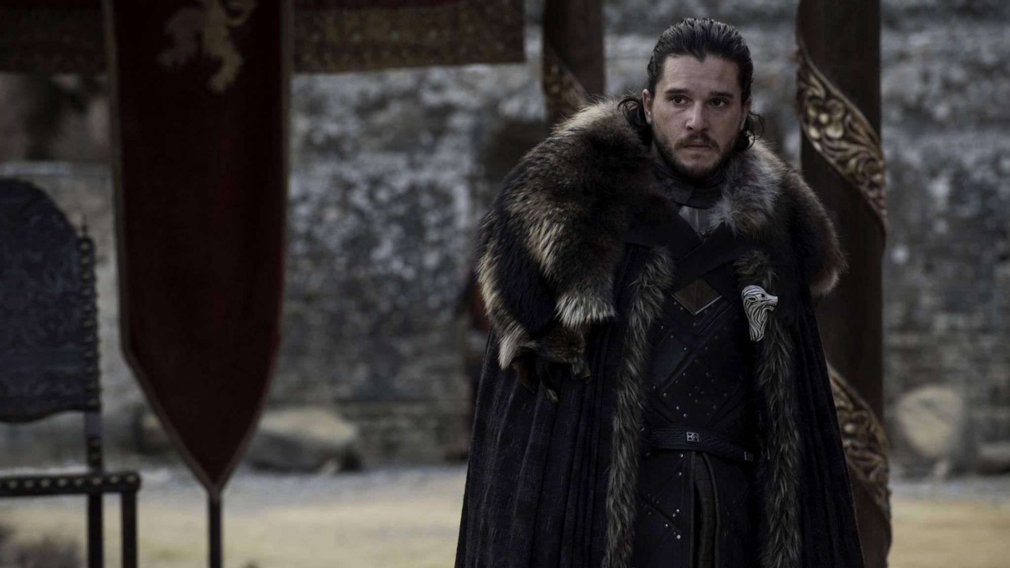 """Durch seine Produzenten hat """"Game of Thrones""""-Star Kit Harington nichts zu lachen."""