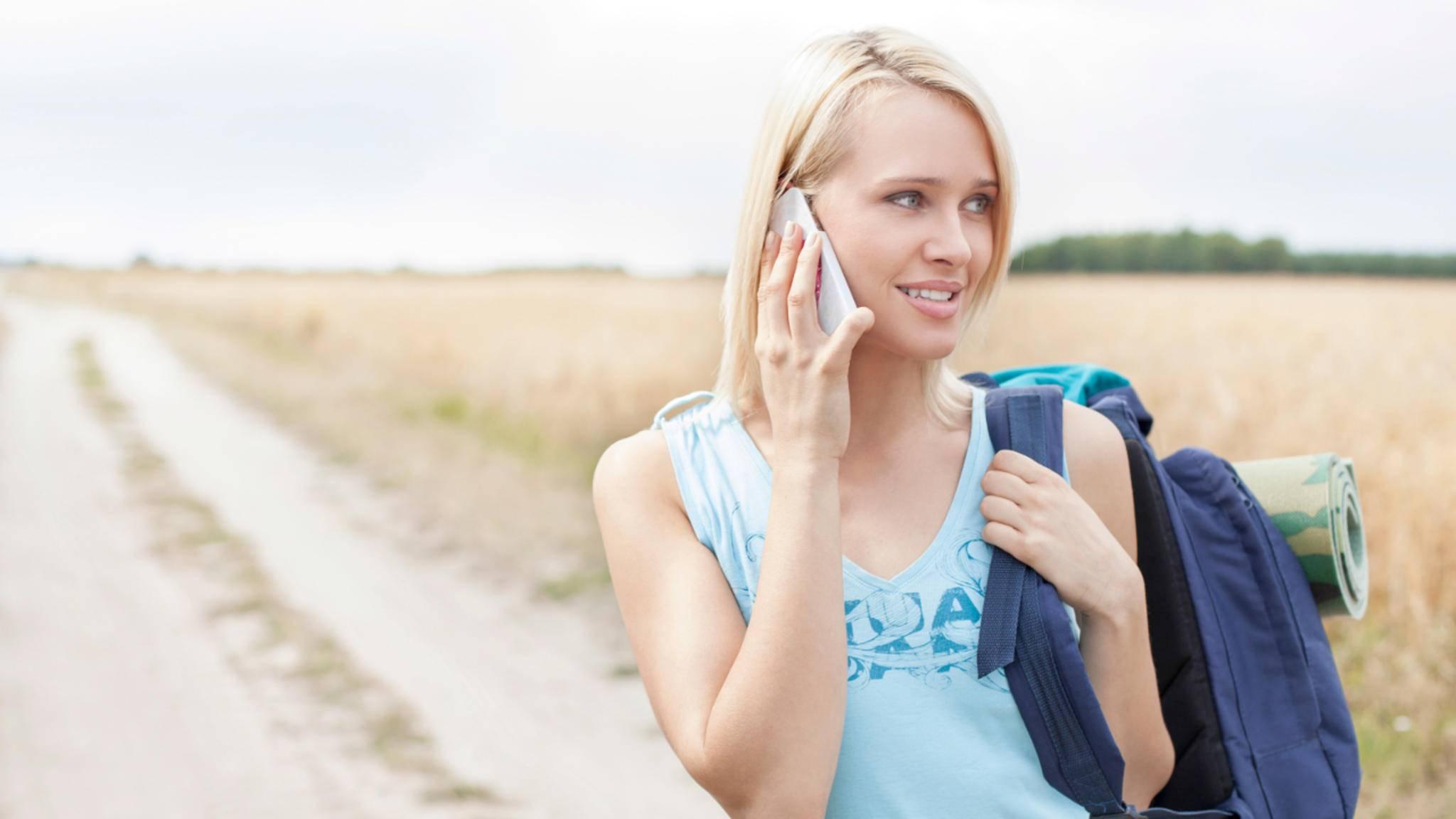 Bei lautem Wind ist der Gesprächspartner oft schwer zu verstehen.