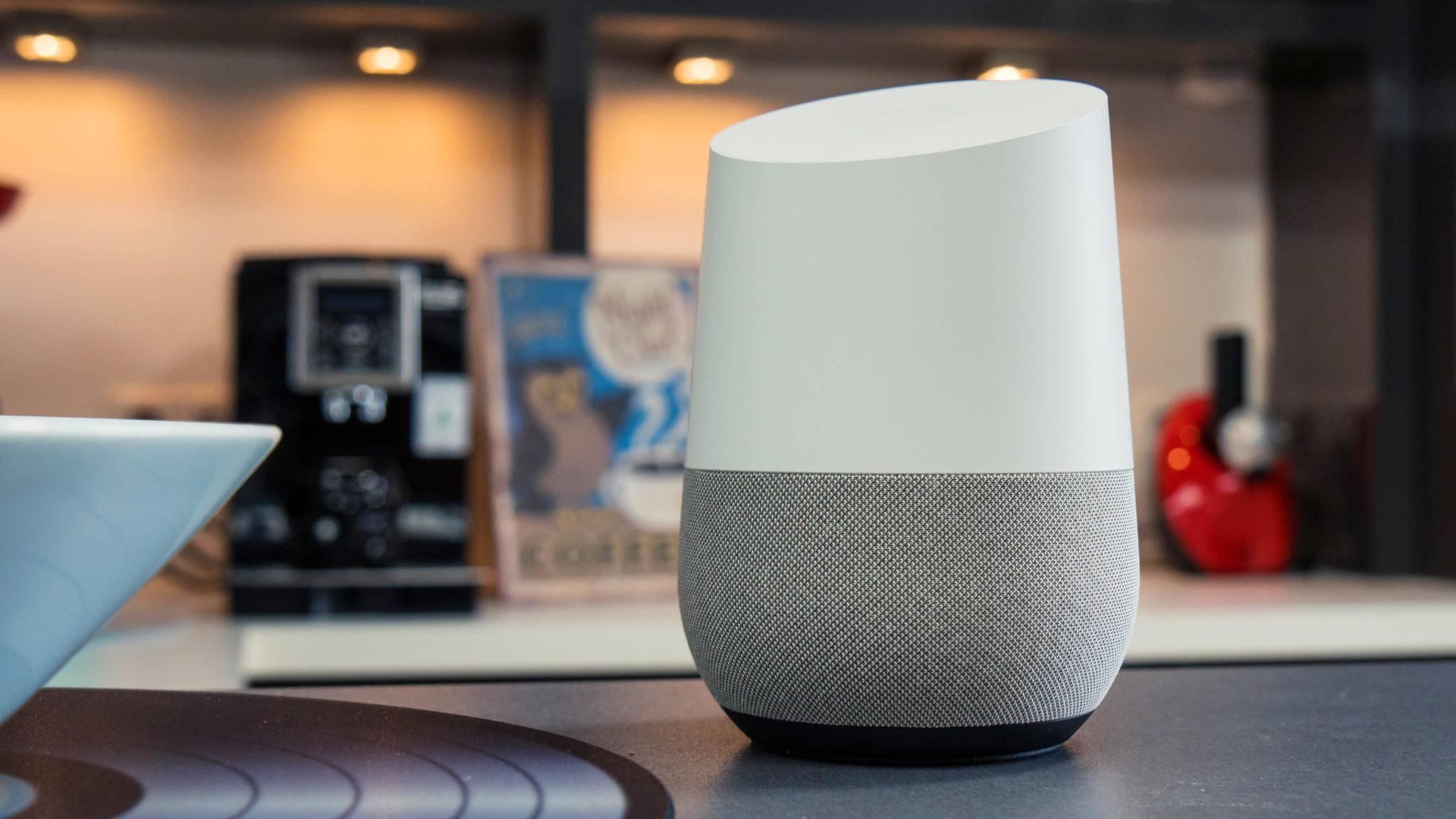 Zahlreiche Google-Home-Lautsprecher dürften an Weihnachten neue Besitzer gefunden haben.